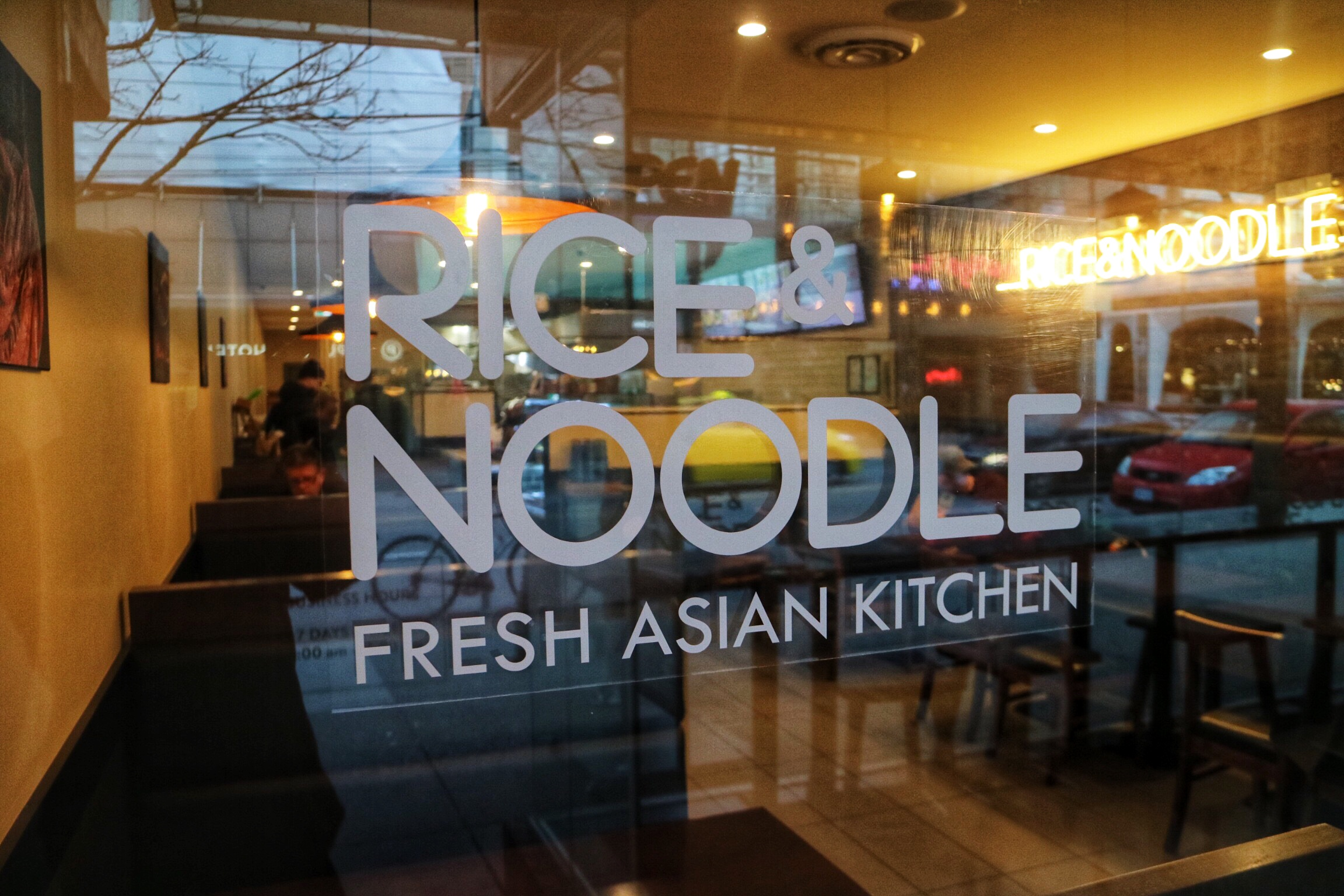 Rice & Noodle, Robson Street