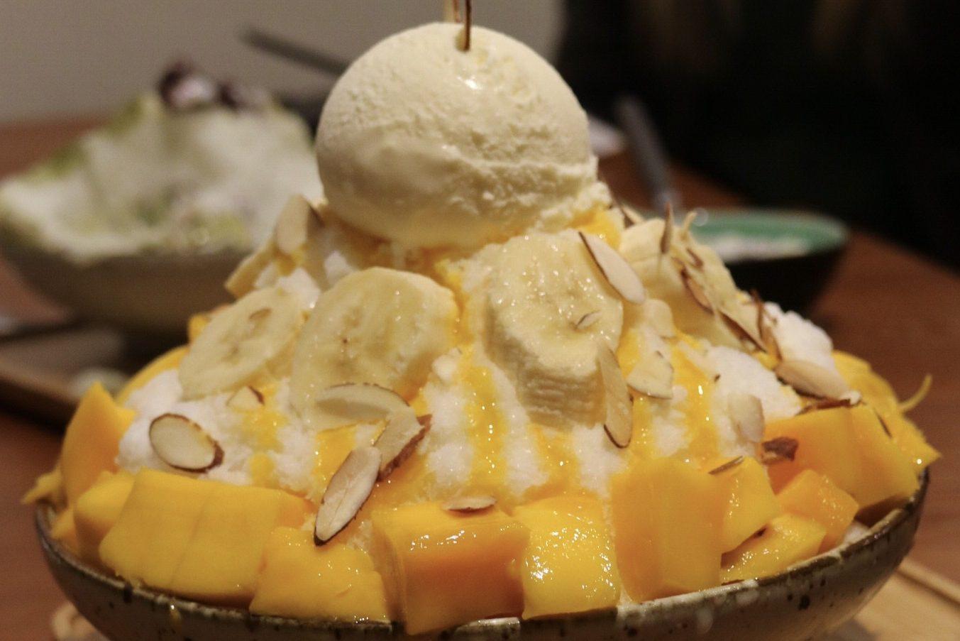Mango Banana Bingsu
