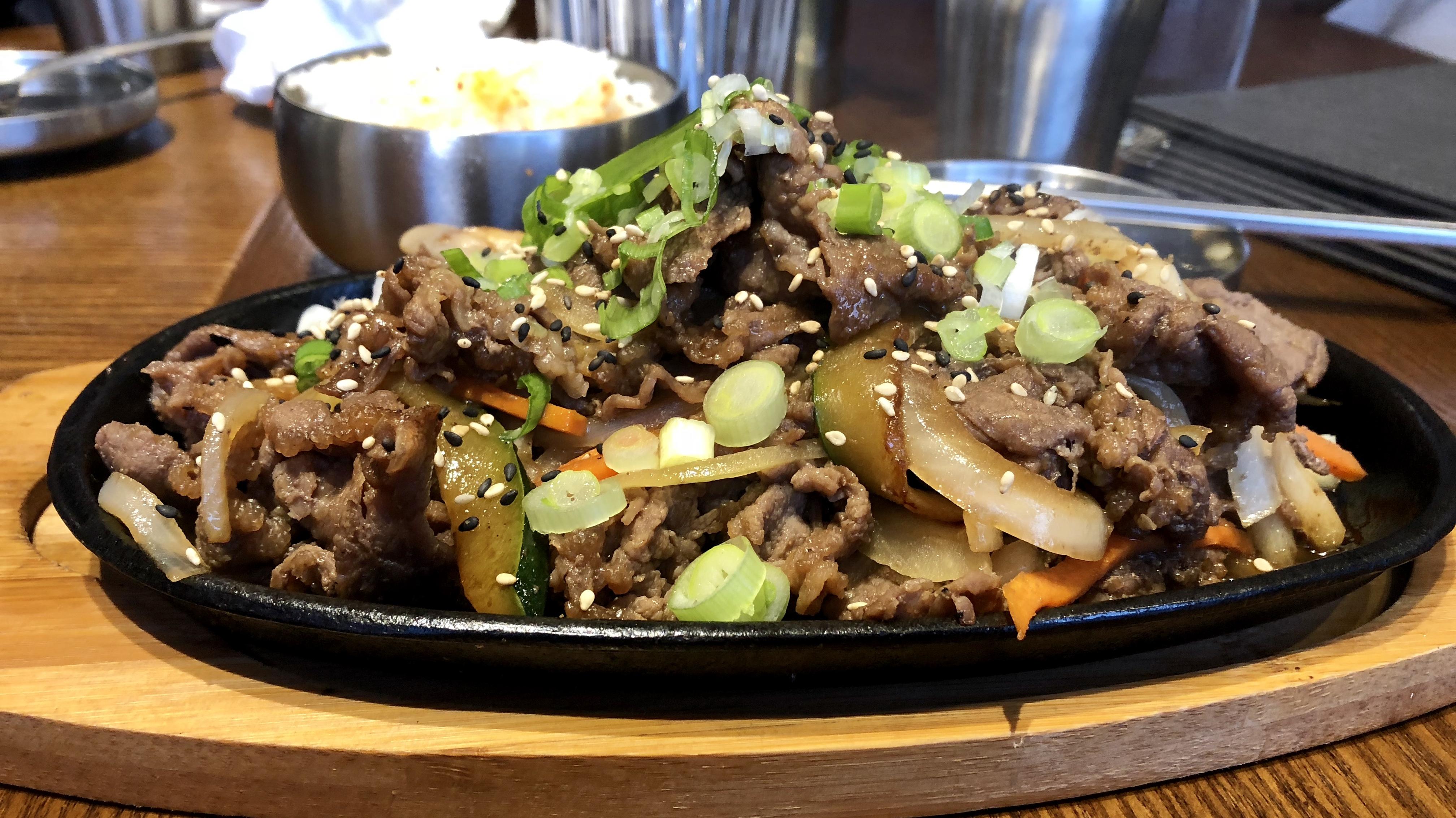 Korean BBQ - Bulgogi Beef