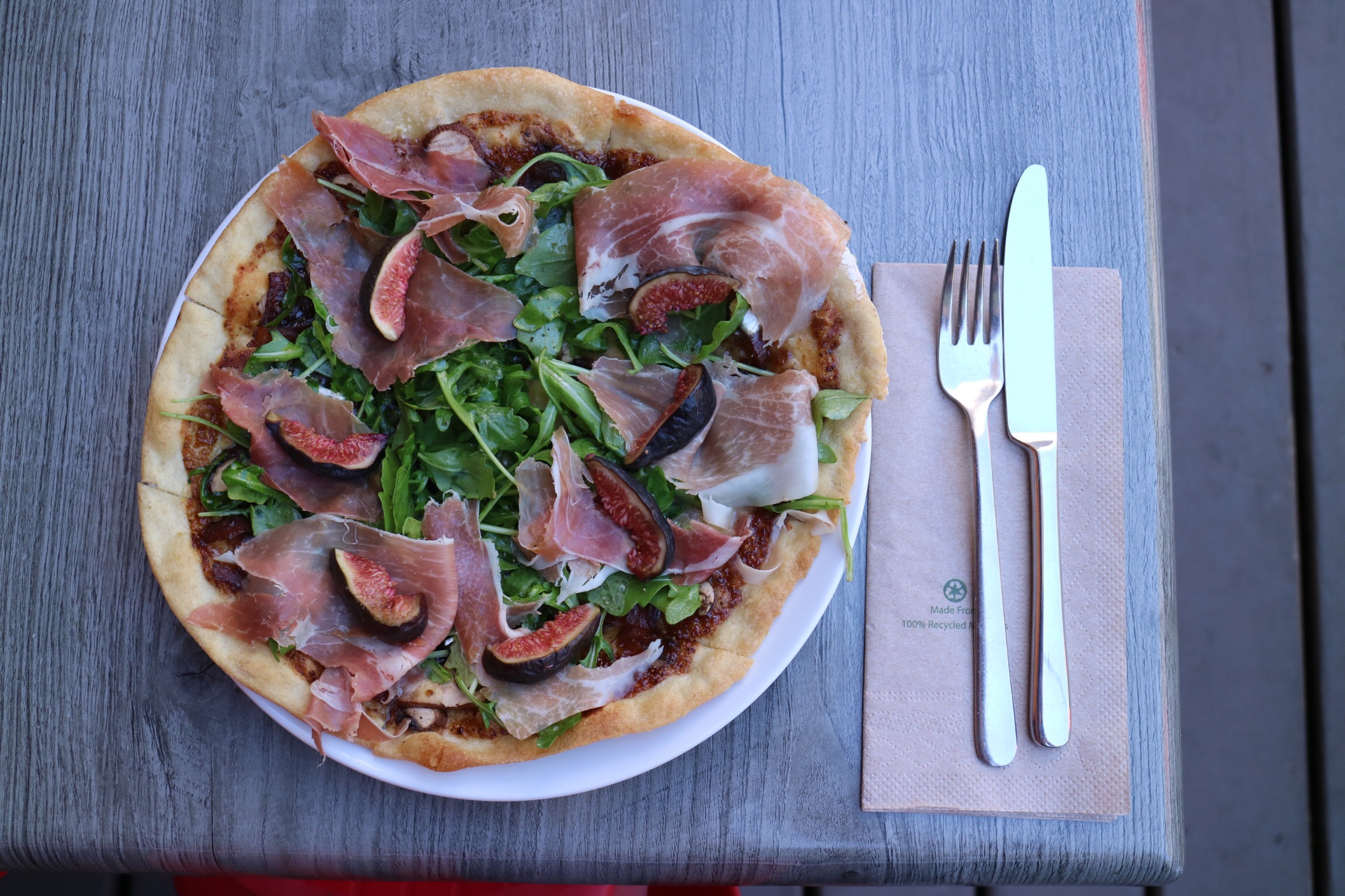 Fig and Brie Artisan Pizza