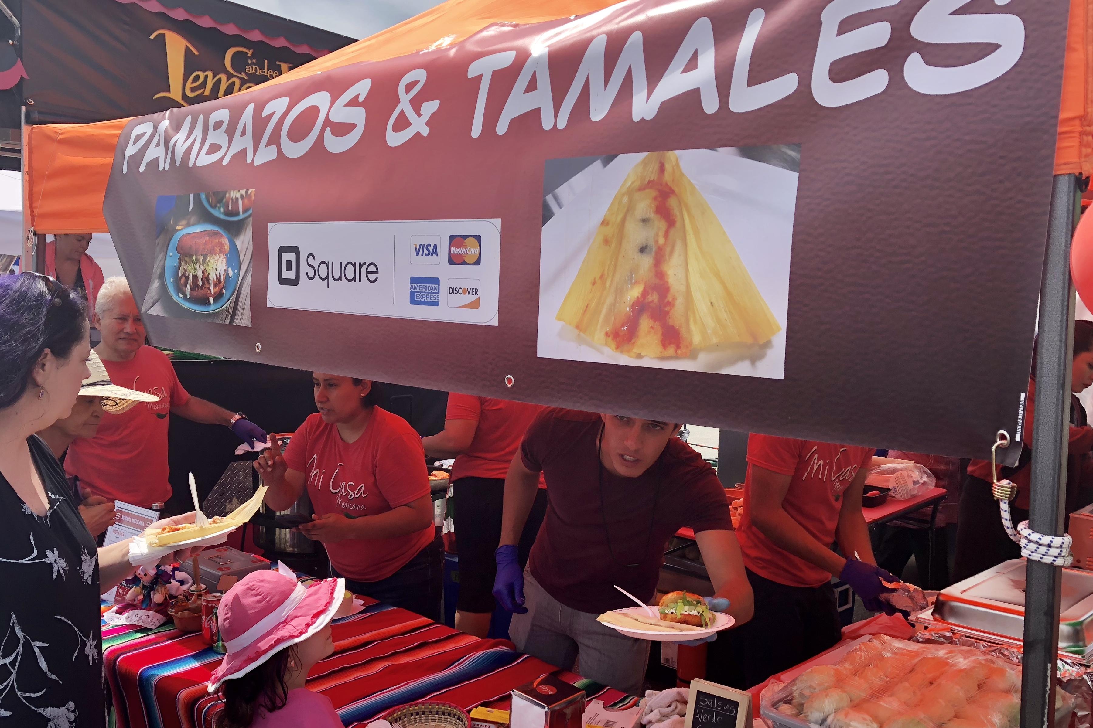Pambazos & Tamales