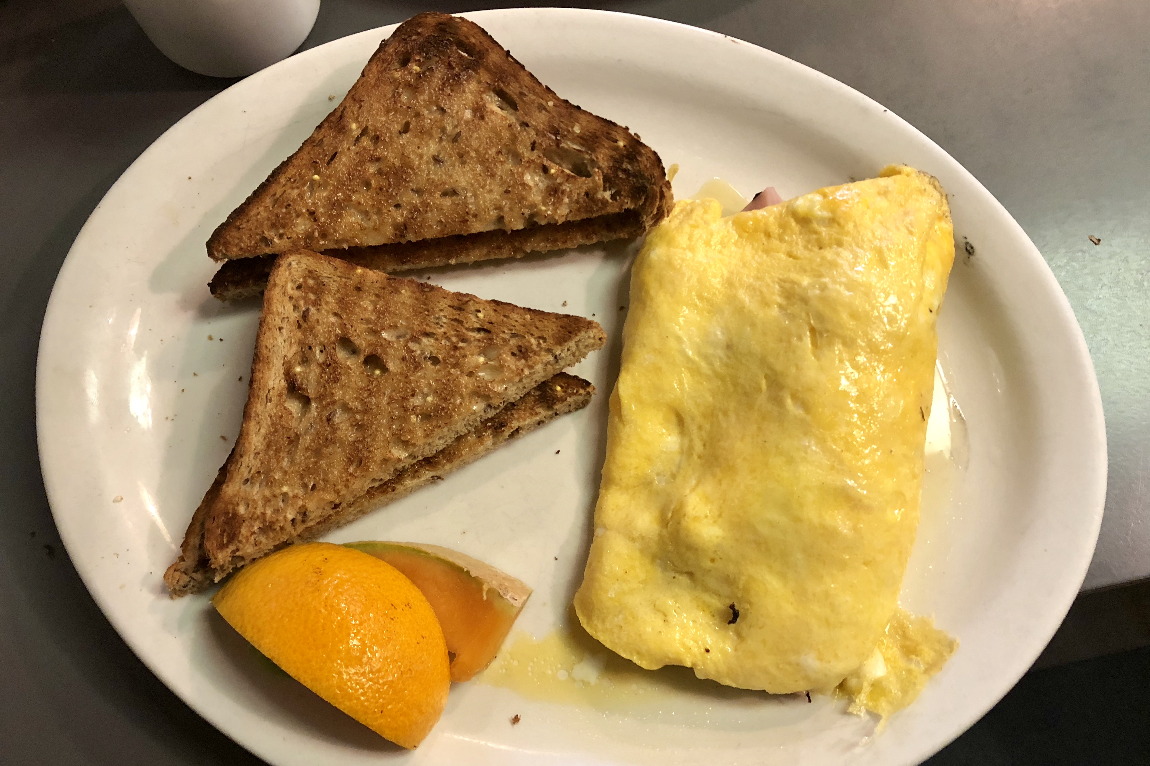 3-Egg Omelette with Ham & Cheese