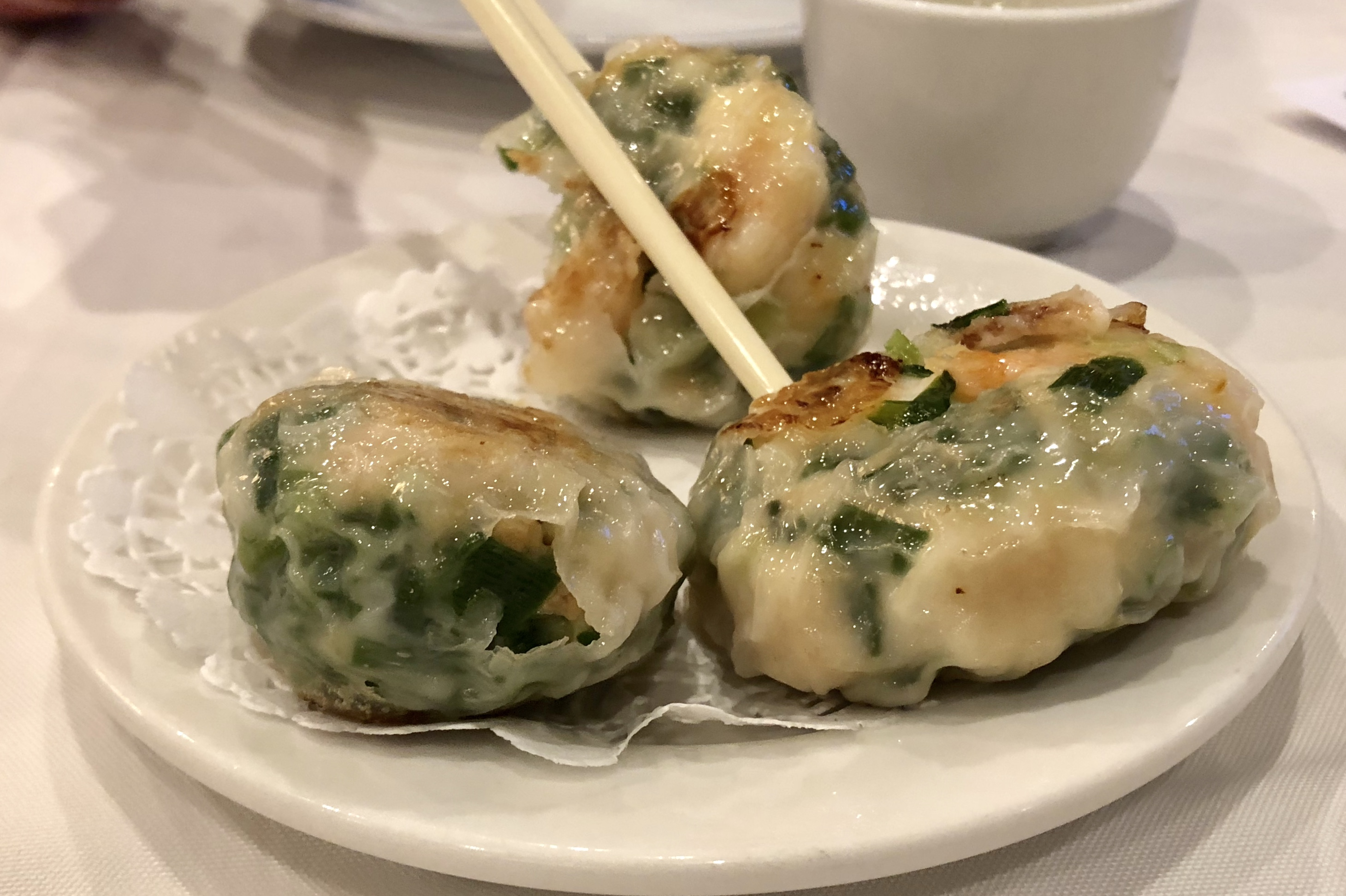 Shrimp and Chive Dumpling