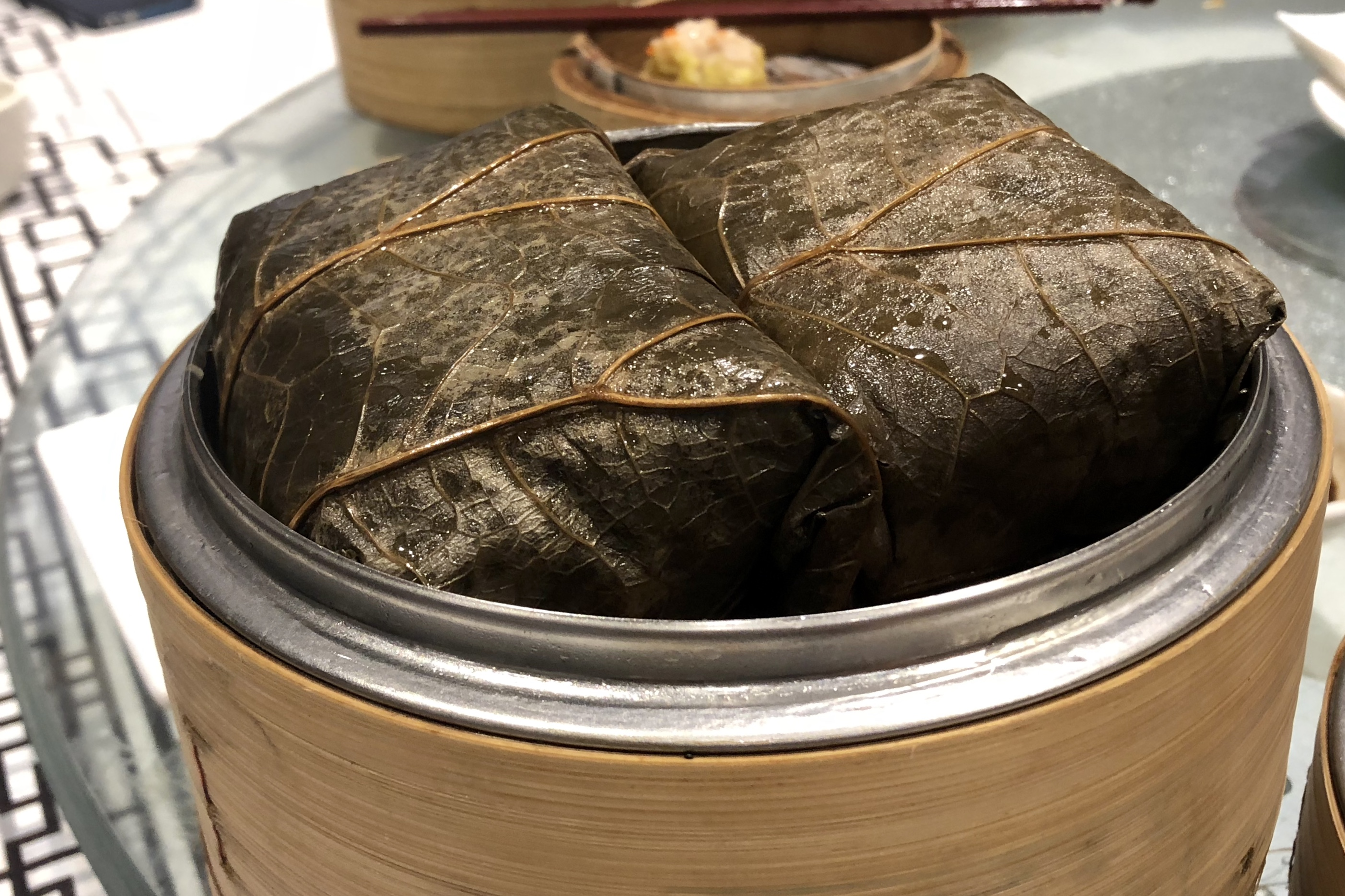 Steamed Sticky Rice Wrap