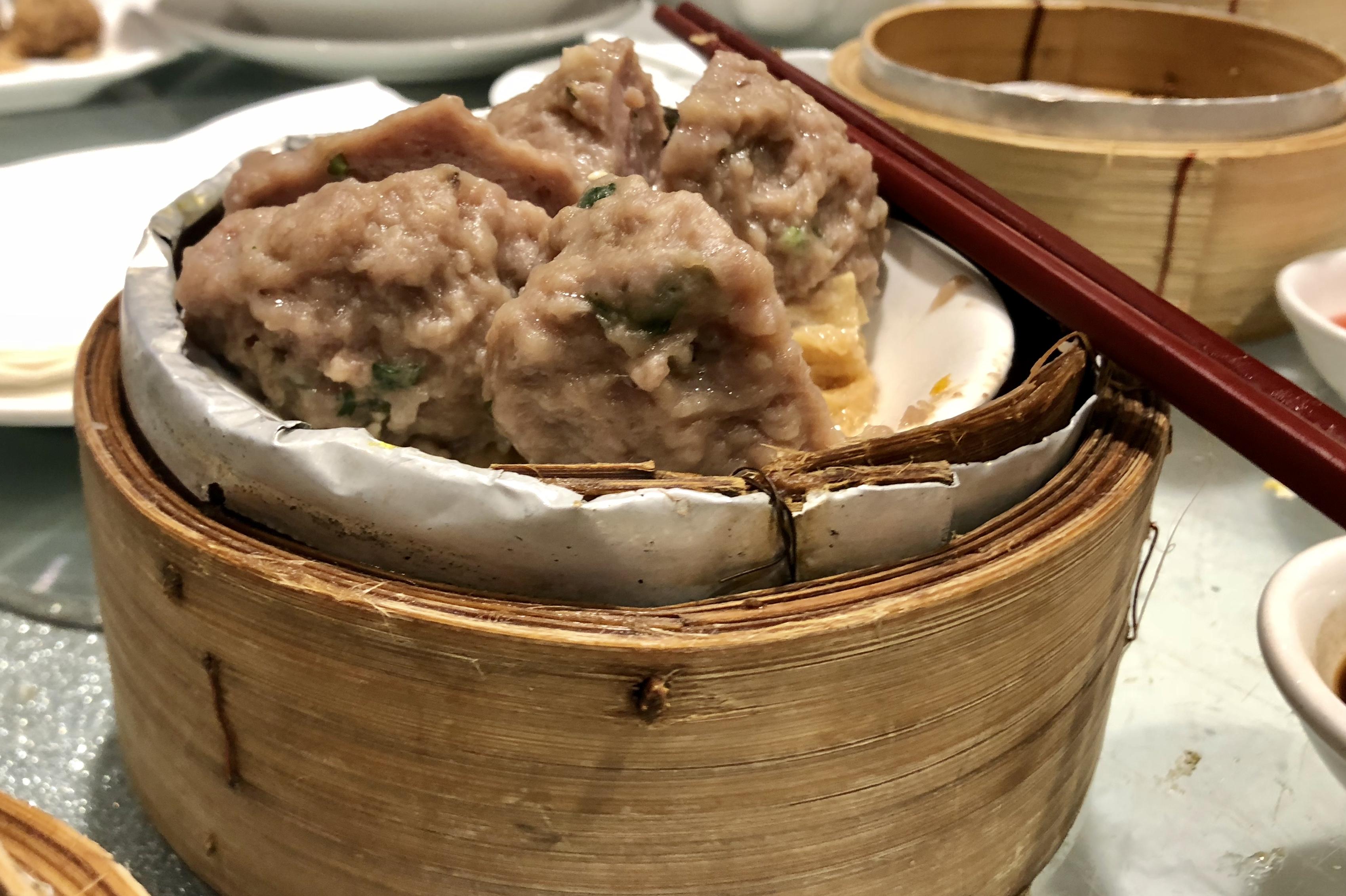 Beef Meatball Dumplings