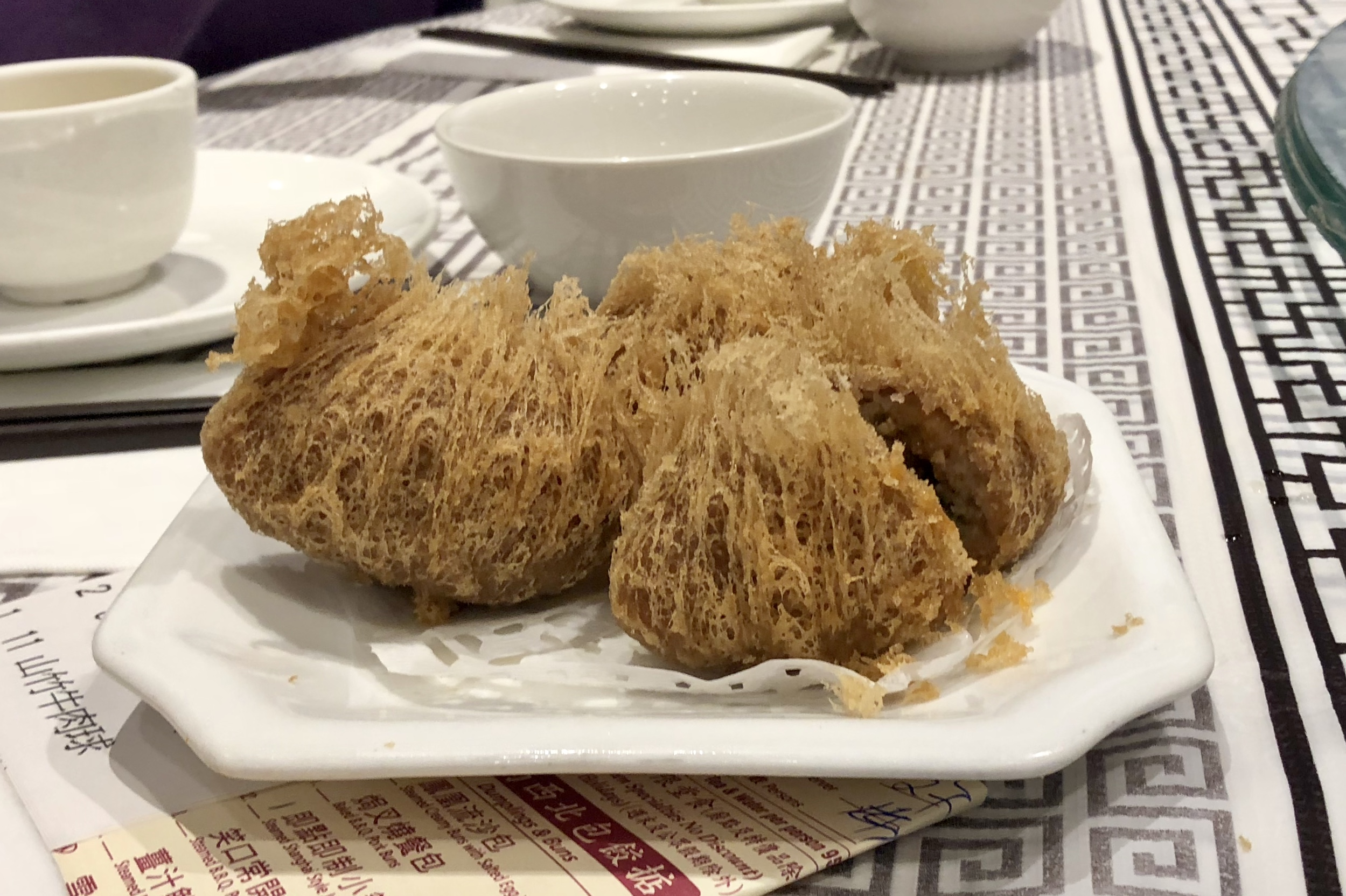 Deep Fried Taro Dumplings