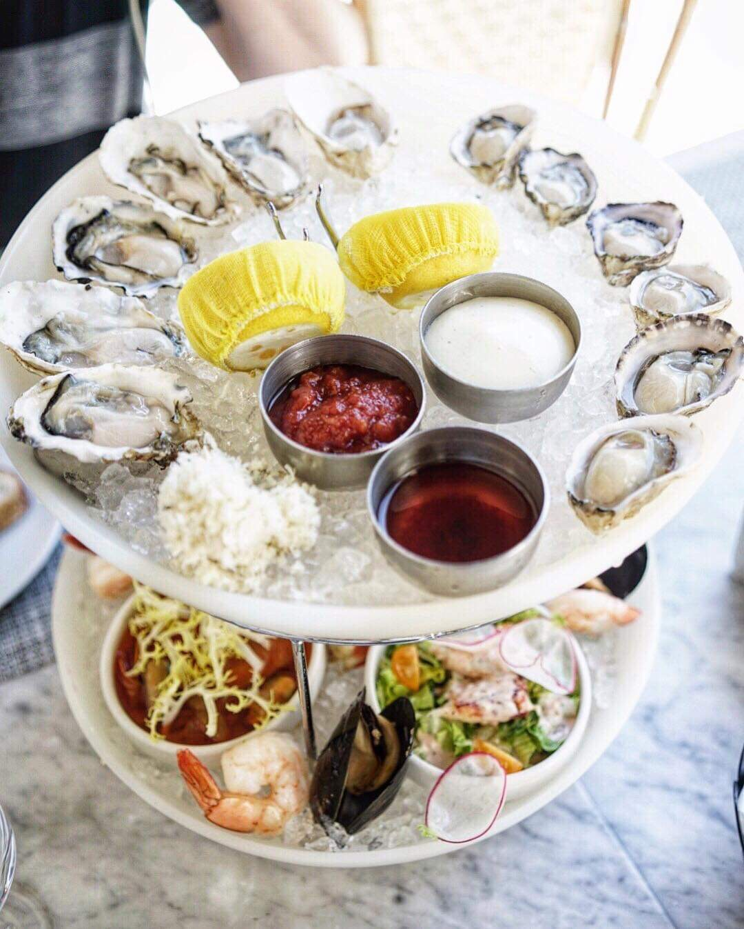 Seafood Tower @ Boulevard - photo by @wdwphoto