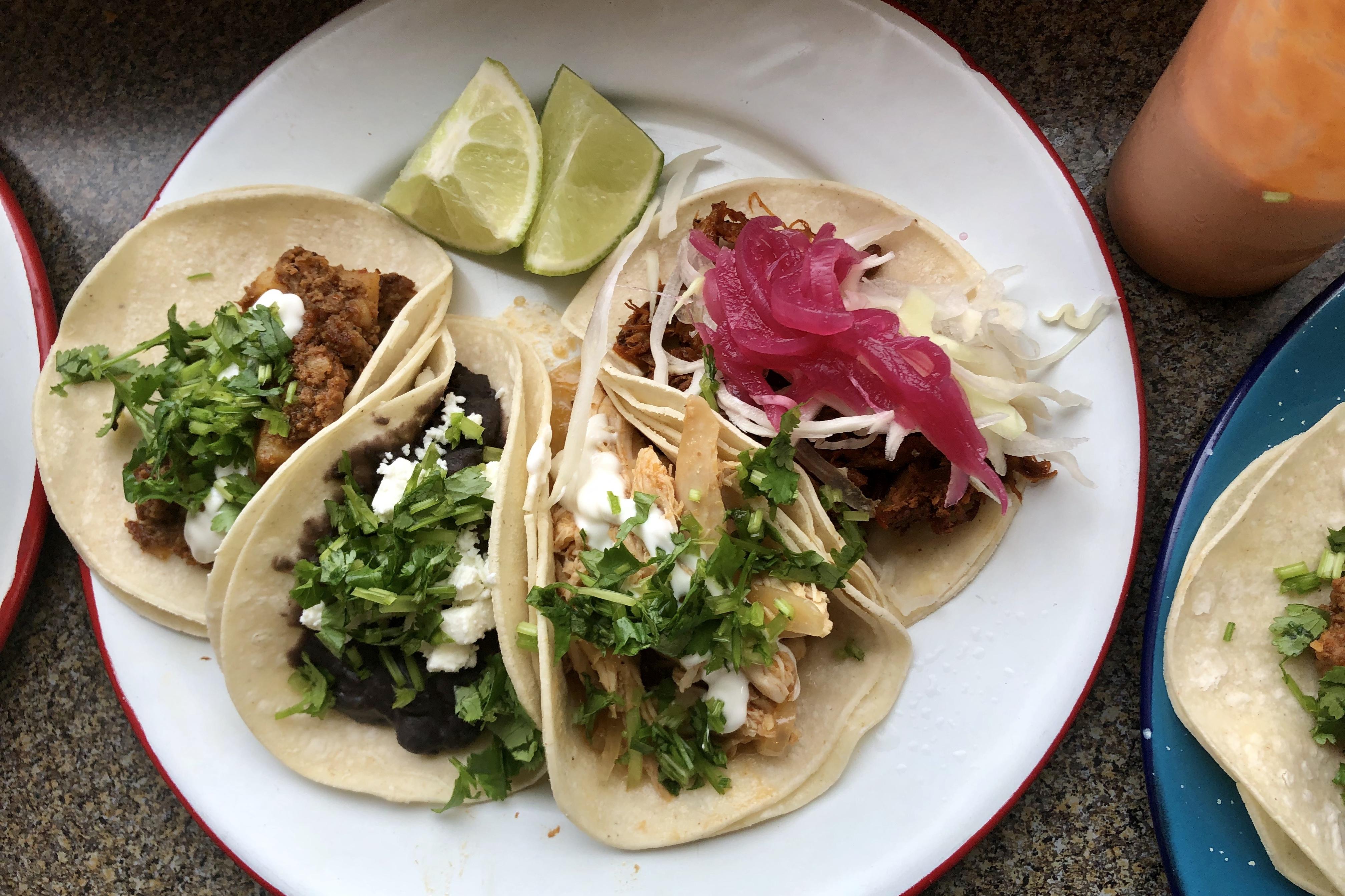 Tacos at Molli Cafe