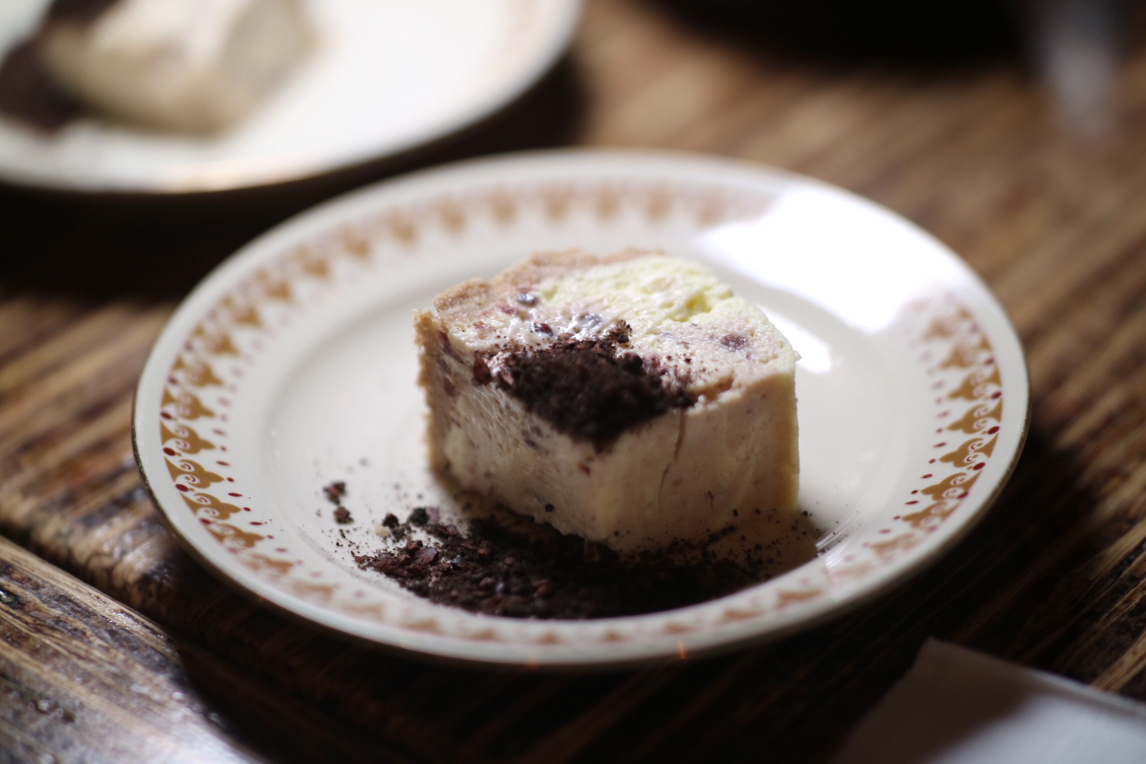 Red Bean & Yuzu Marble Cheesecake