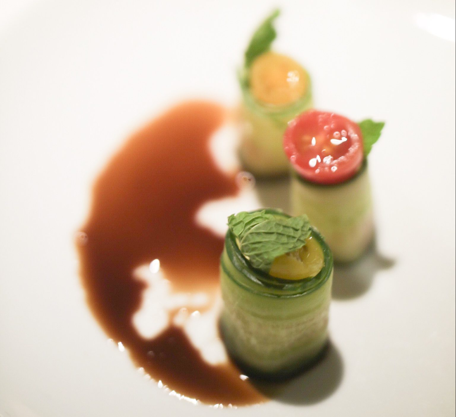 Cucumber Caprese