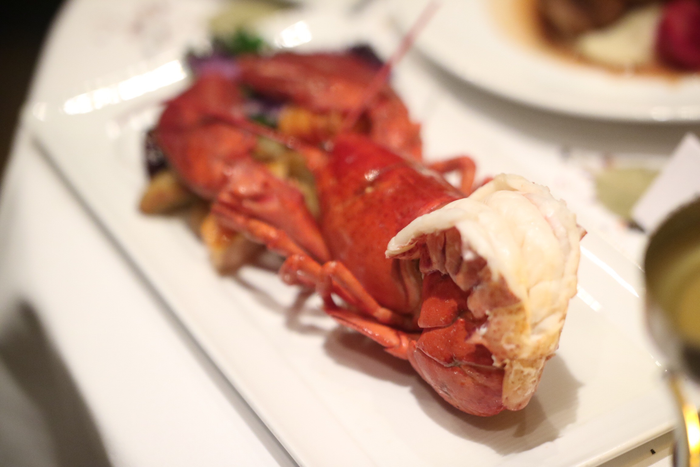 Poached Atlantic Lobster