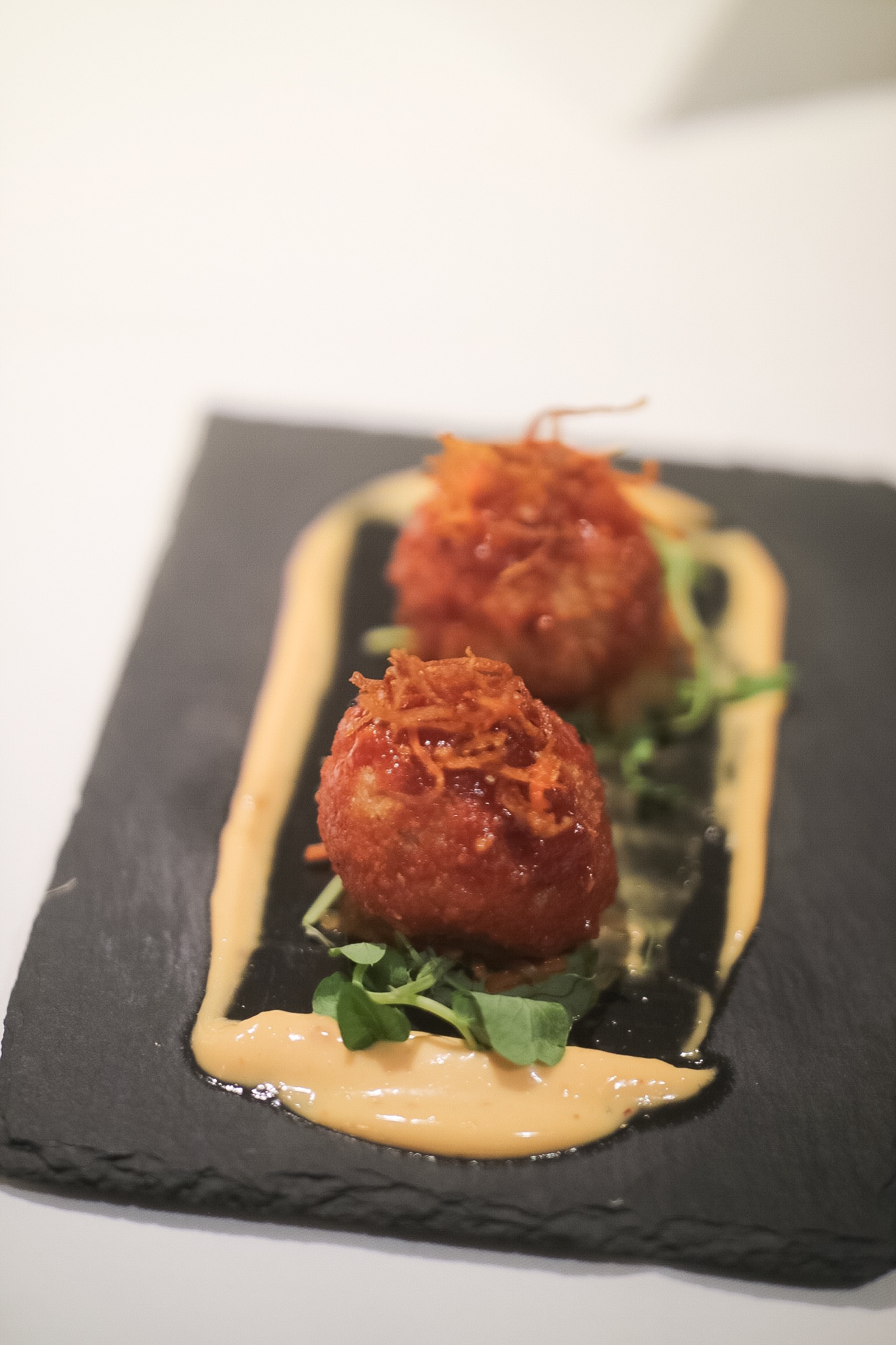 Korean spiced Arancini