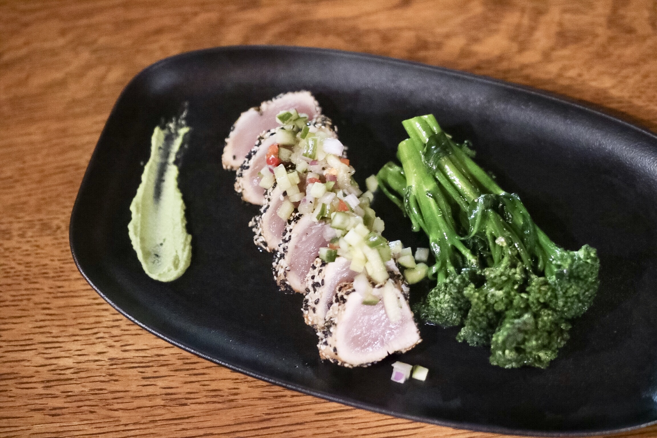Sesame Crusted Albacore Tuna