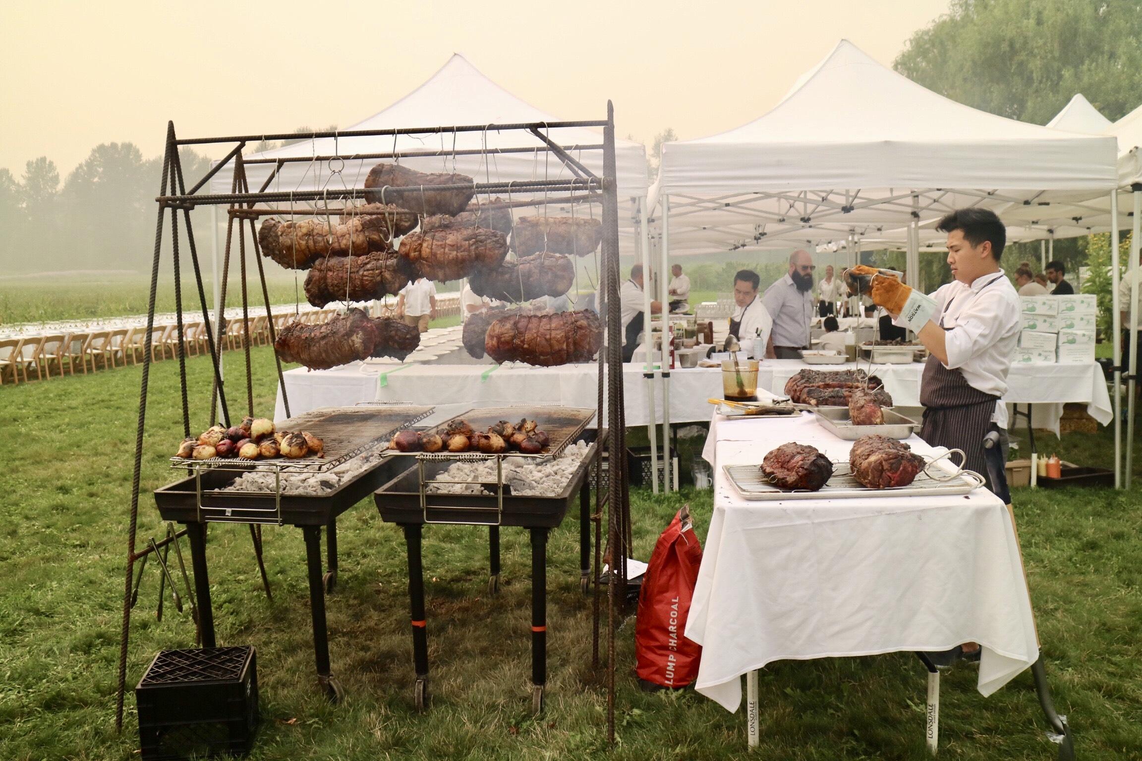 Araxi Longtable Dinner 2018