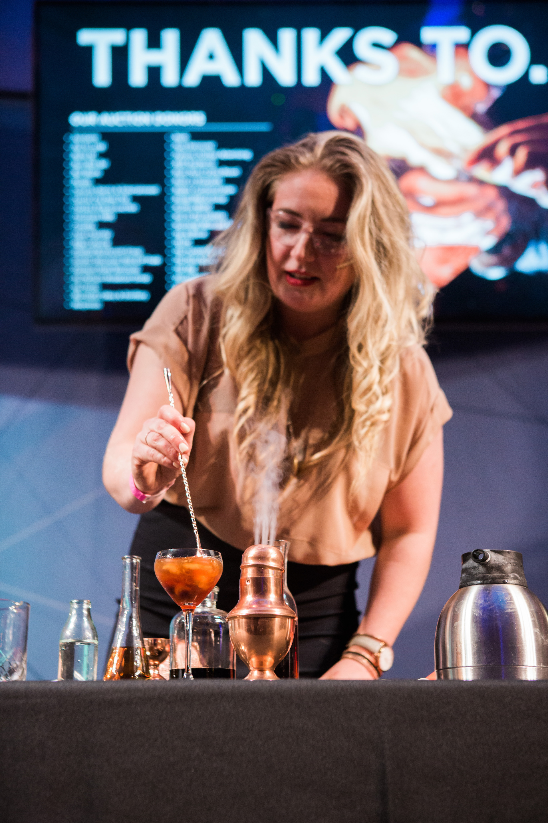 Amber Bruce, Bartender Competition Winner