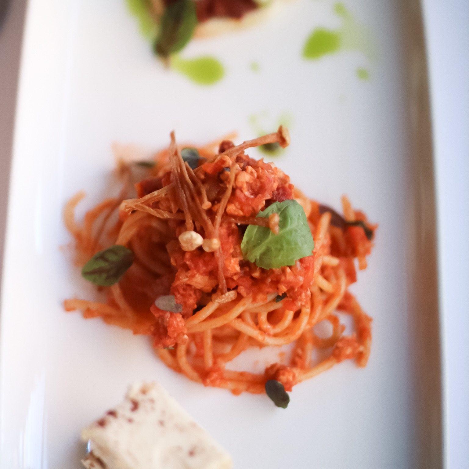 Tuna Spaghetti Bolognese