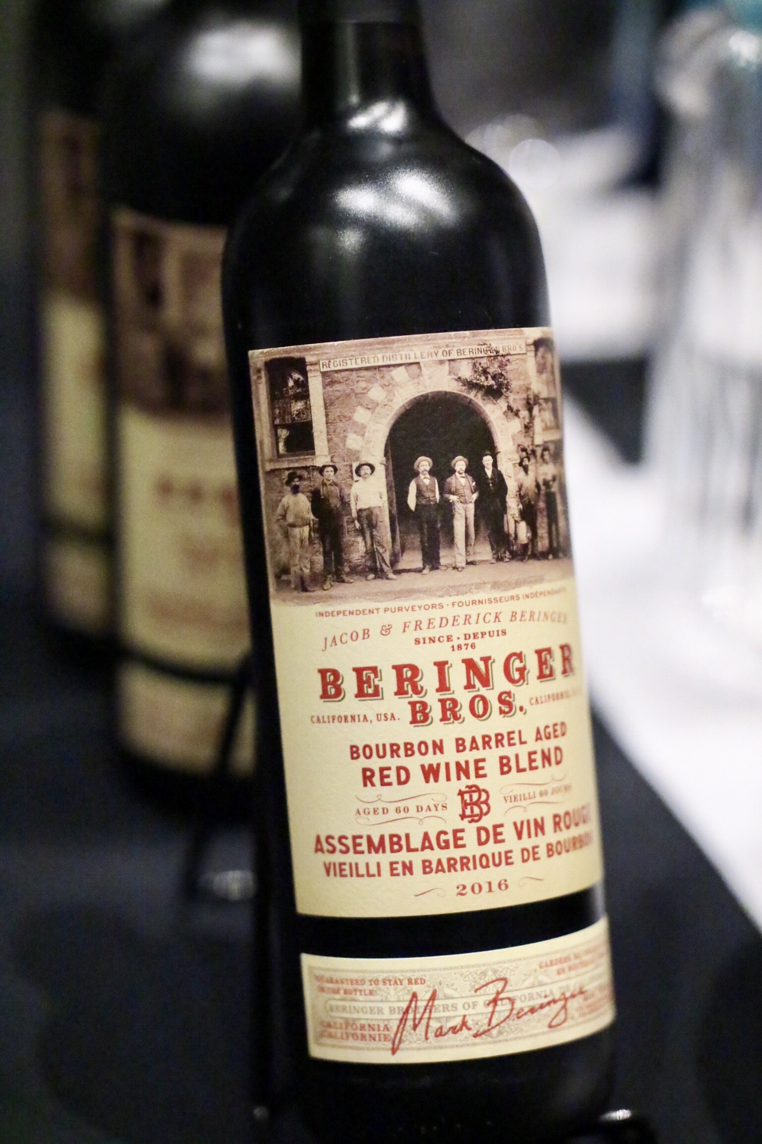 Beringer Brothers Bourbon Barrel Aged Red Blend 2016
