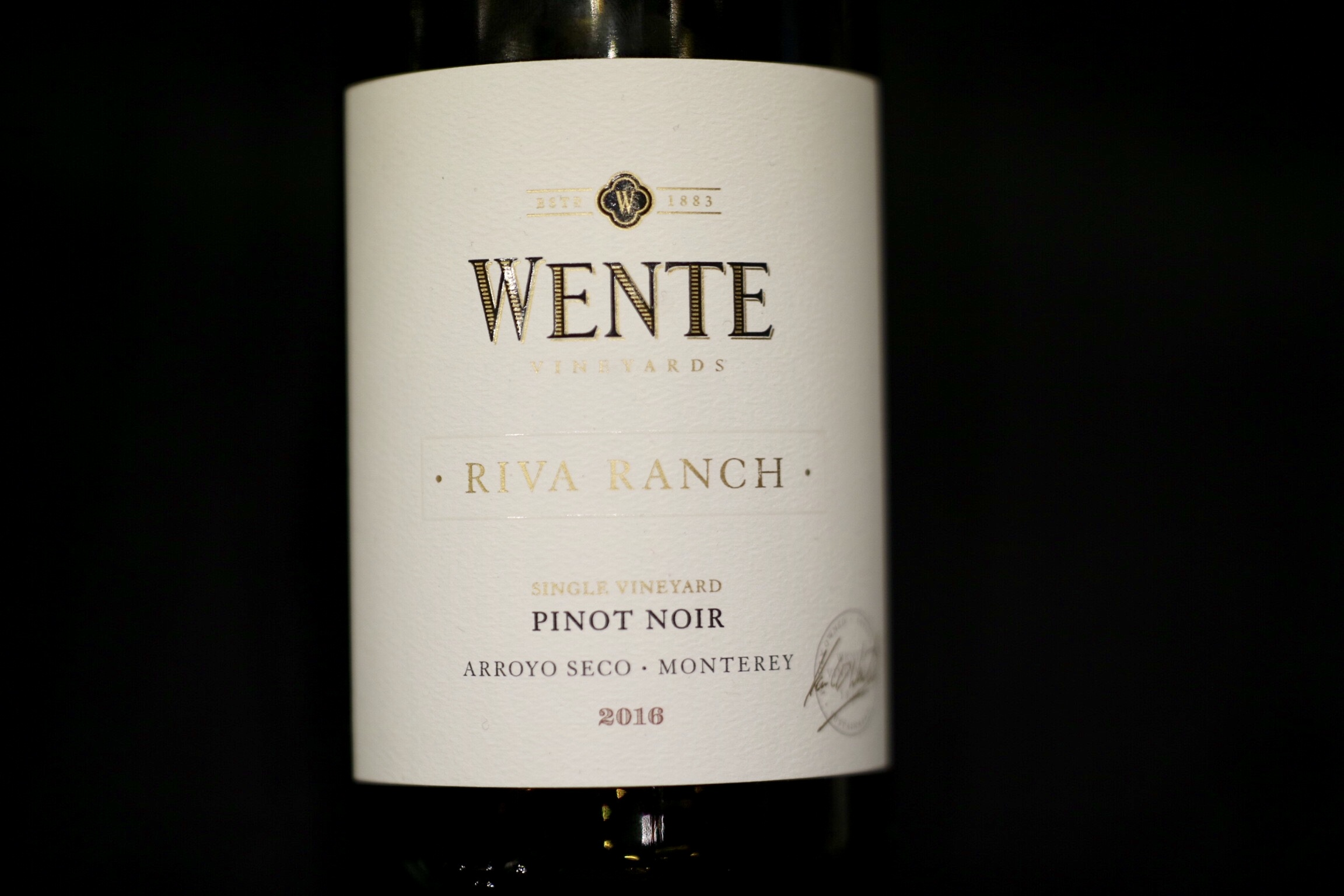 Riva Ranch Single Vineyard Pinot Noir 2016