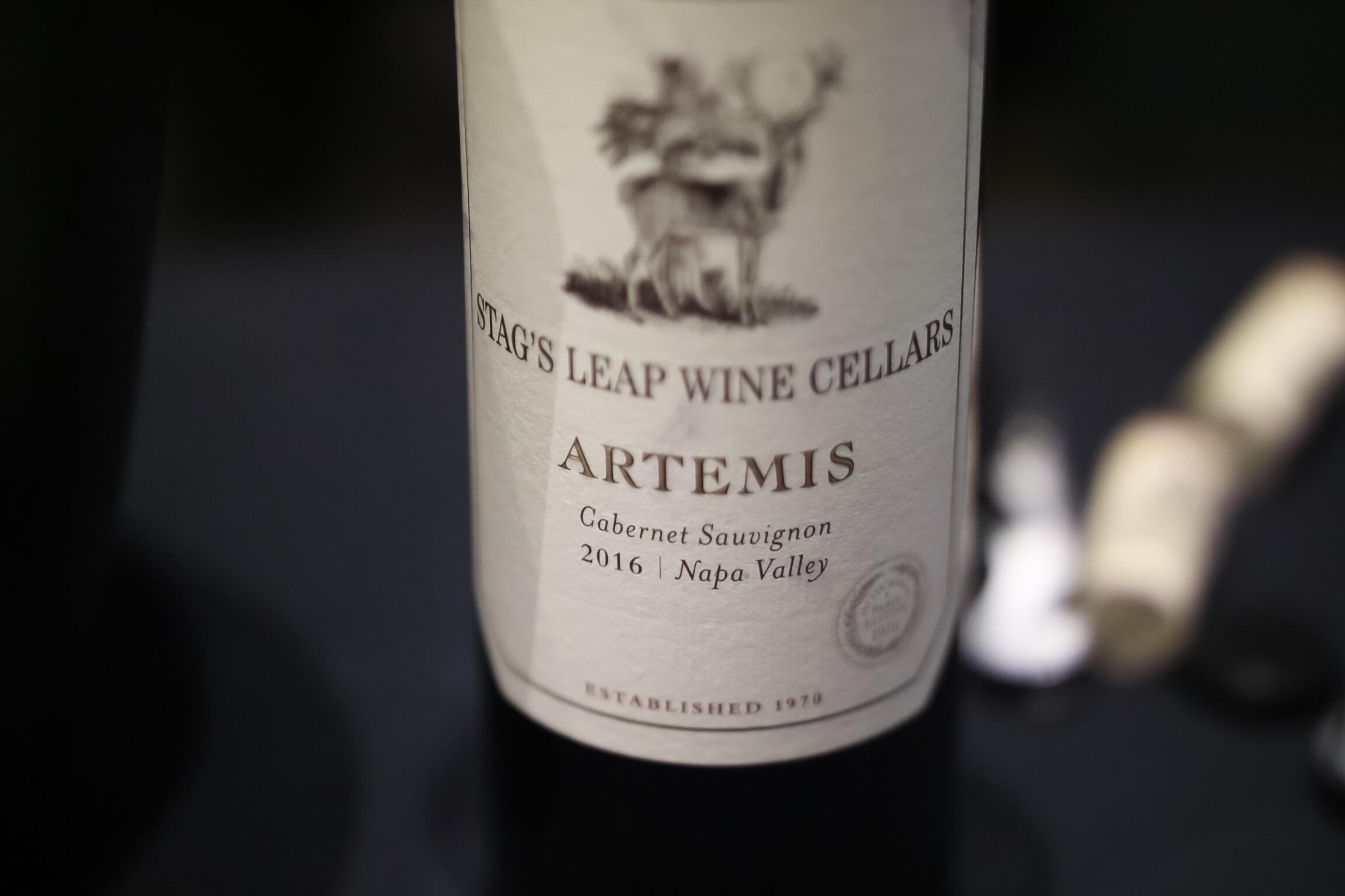 Artemis Nappa Valley Cabernet Sauvignon 2016