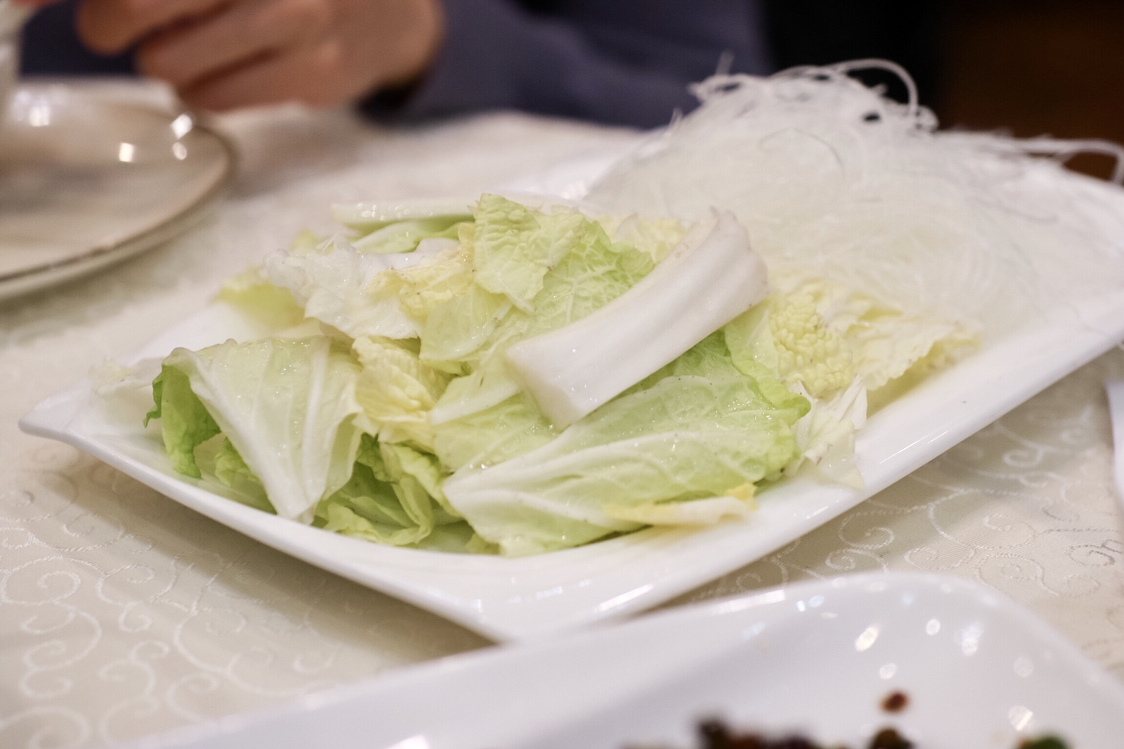 Napa Cabbage & Vermicelli for Lamb Hotpot