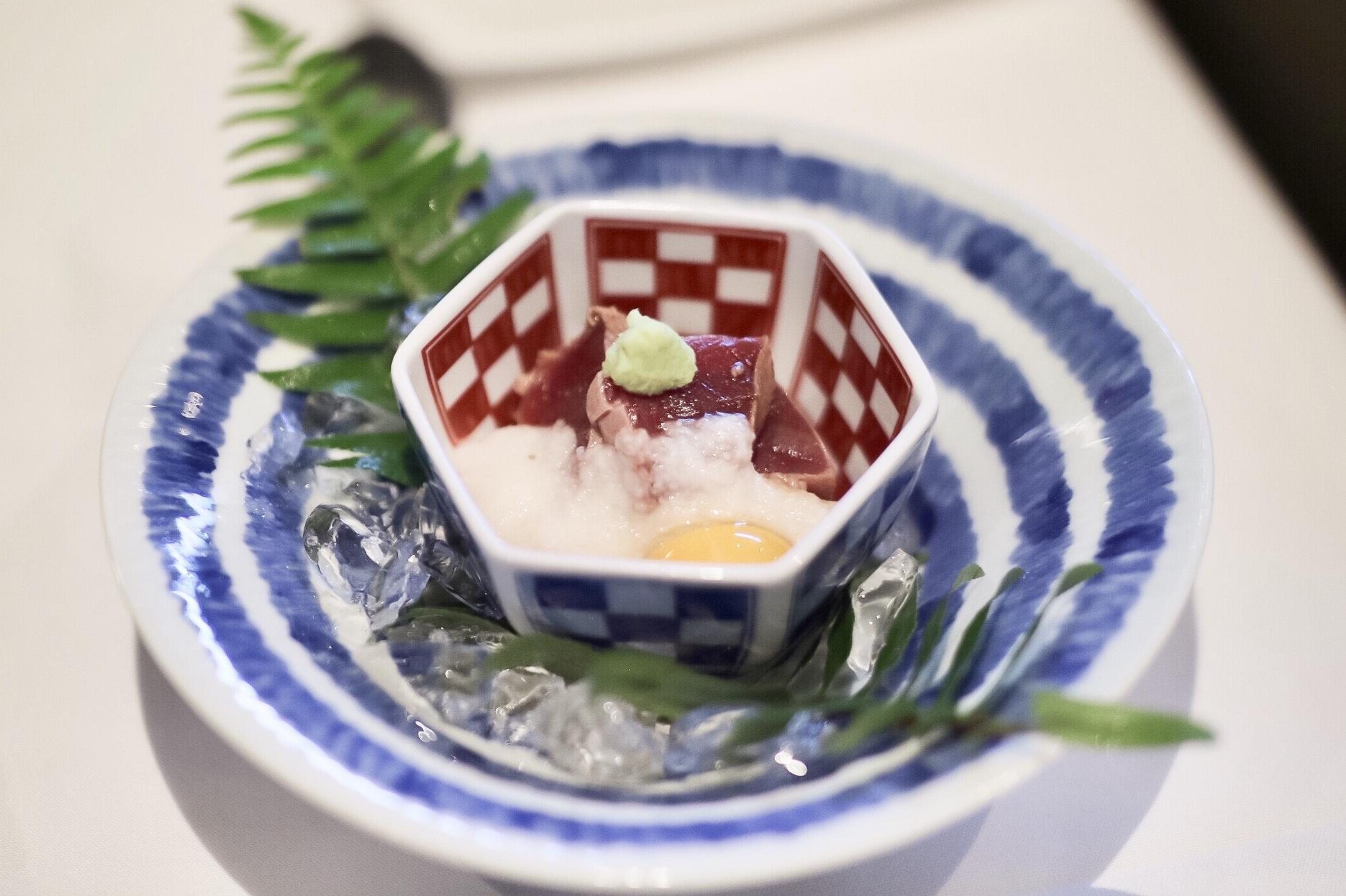 Bluefin Tuna Yamakake
