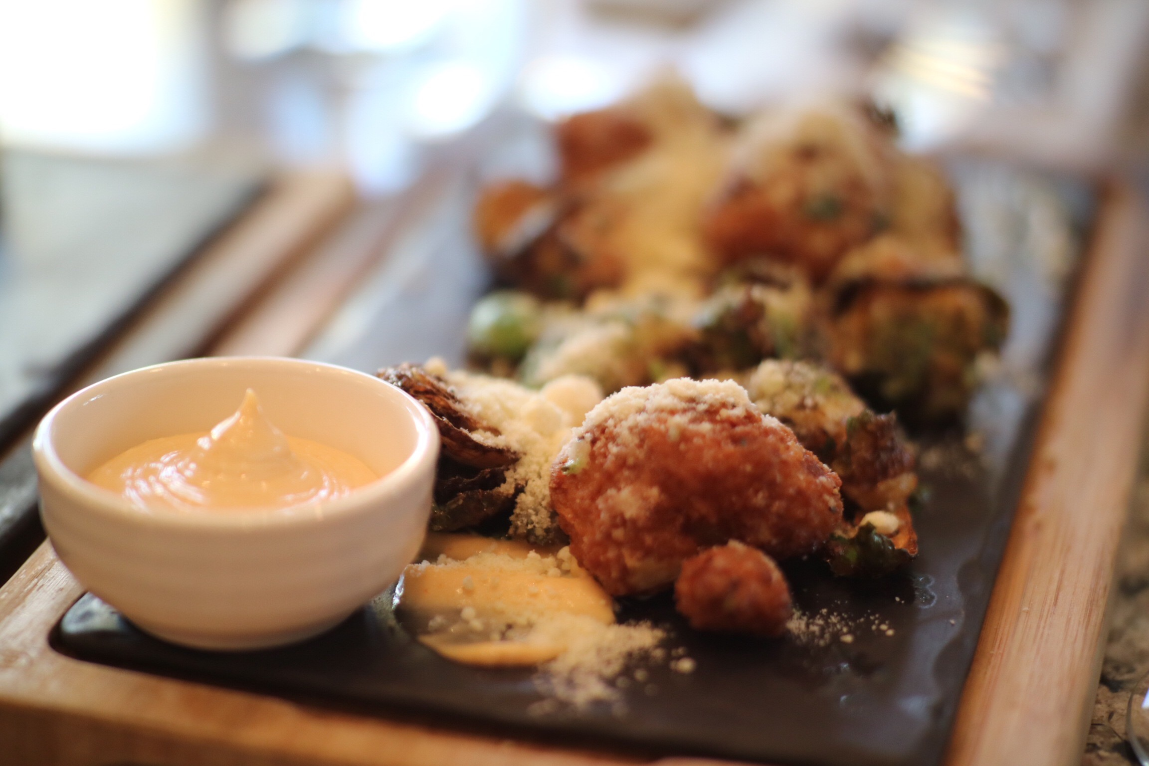Fried Cauliflower & Brussel Sprouts