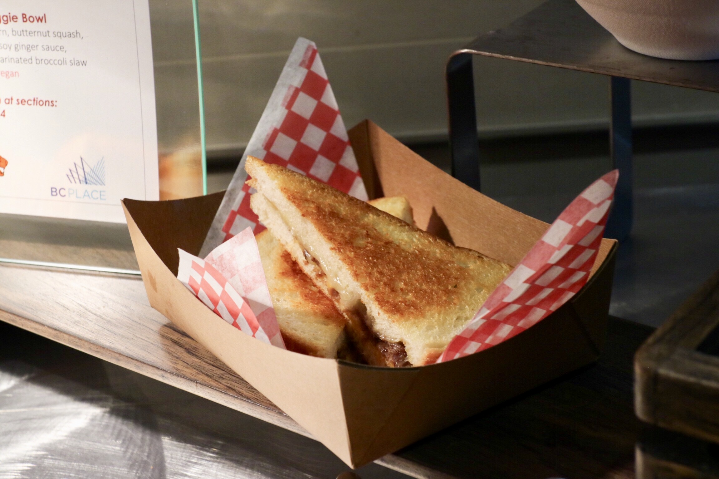 Prime Rib Grilled Cheese
