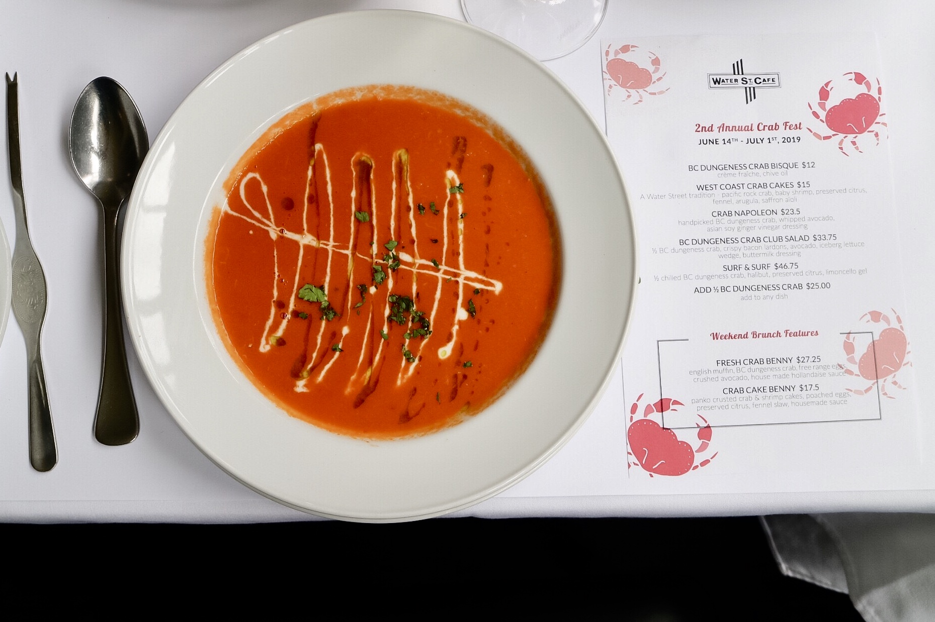 BC Dungeness Crab Bisque
