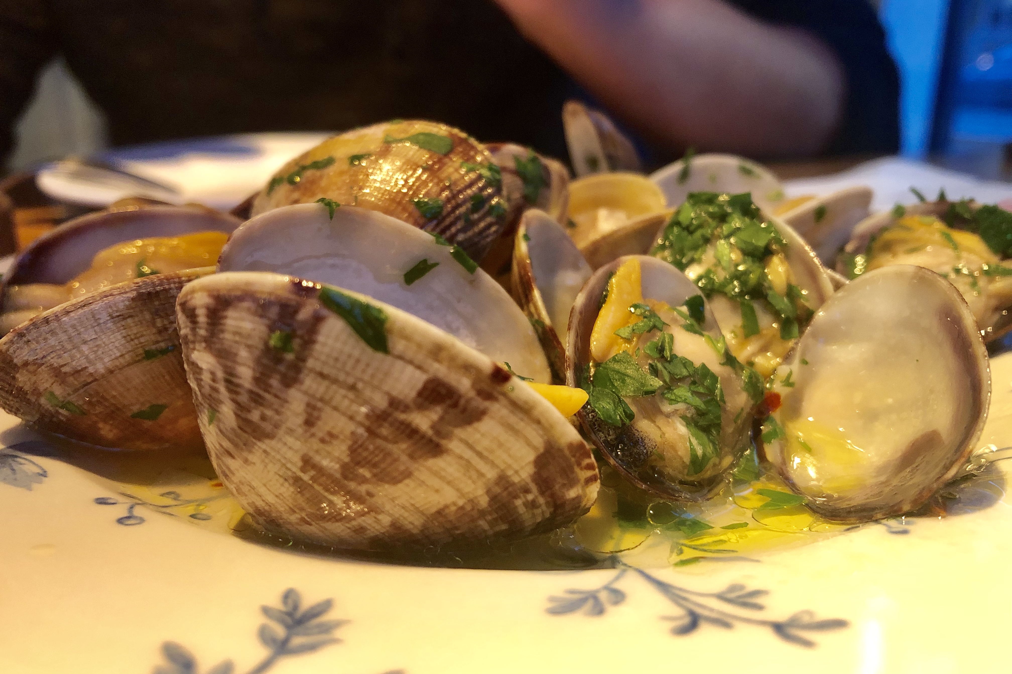 Clams in Vermouth