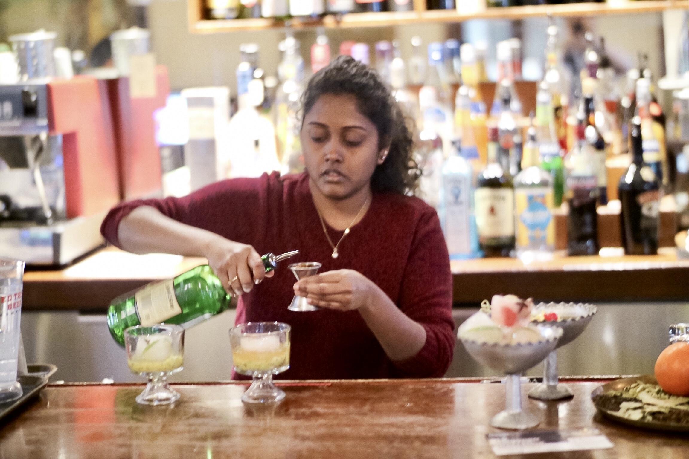Anusha Pippala at Davie Dosa
