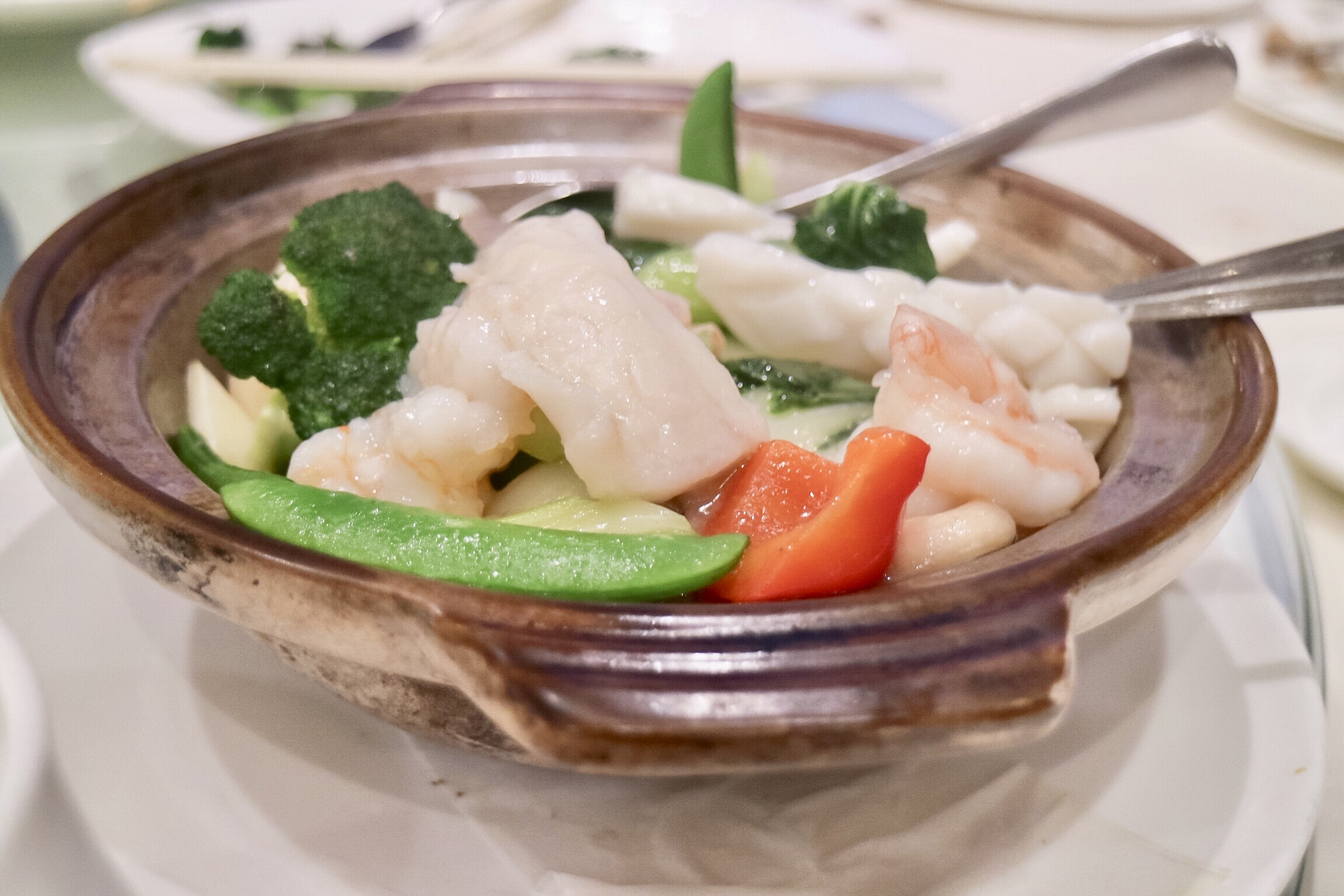 Seafood and Vegetable Pot