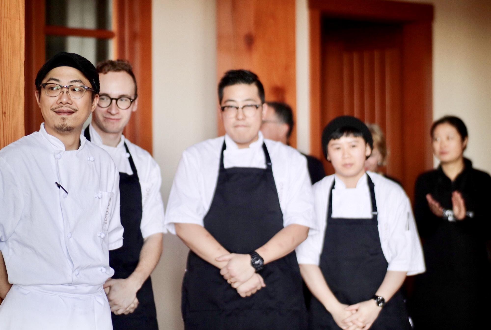 Chef David Pan + team