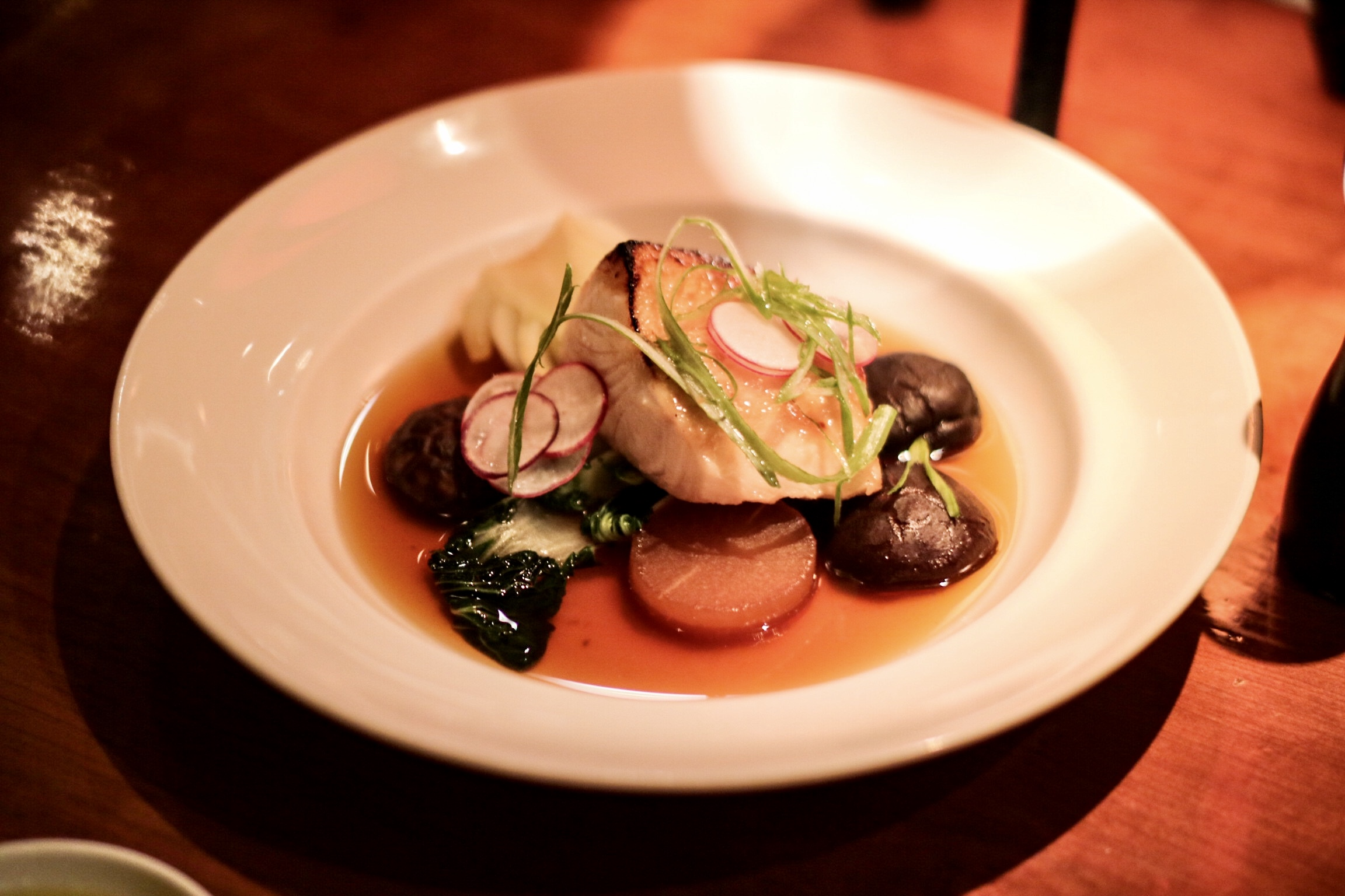 Sablefish in Dashi Broth