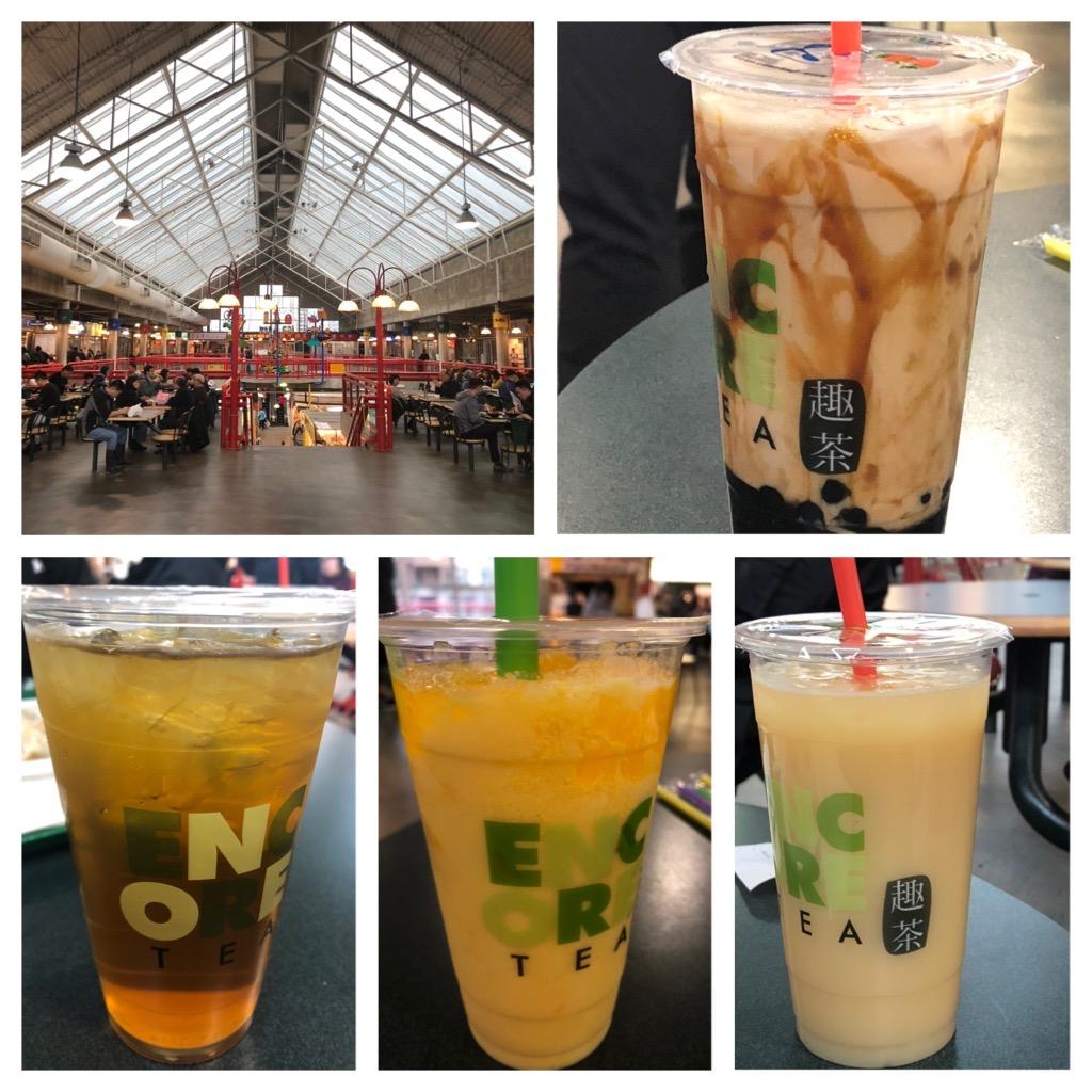 Bubble Tea at Richmond Public Market