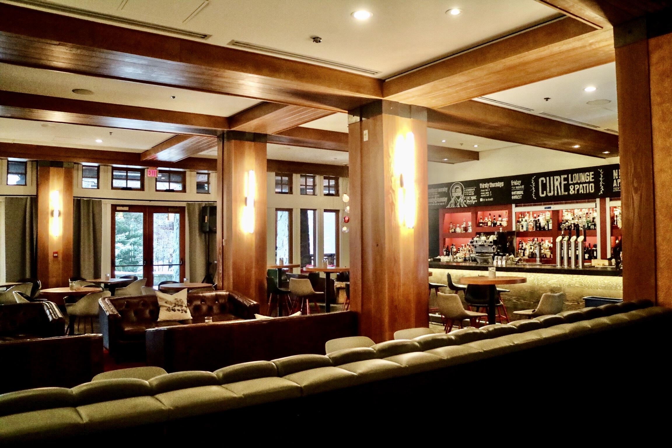 Cure Lounge @ Nita Lake Lodge