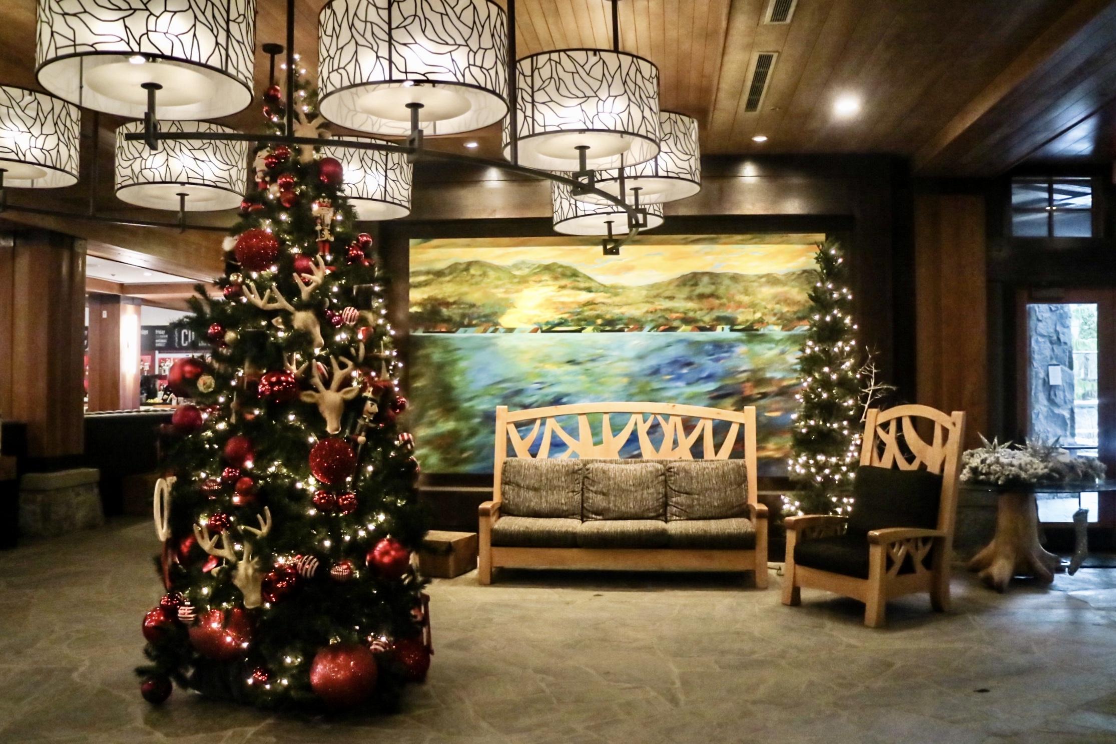 lobby @ nita lake lodge