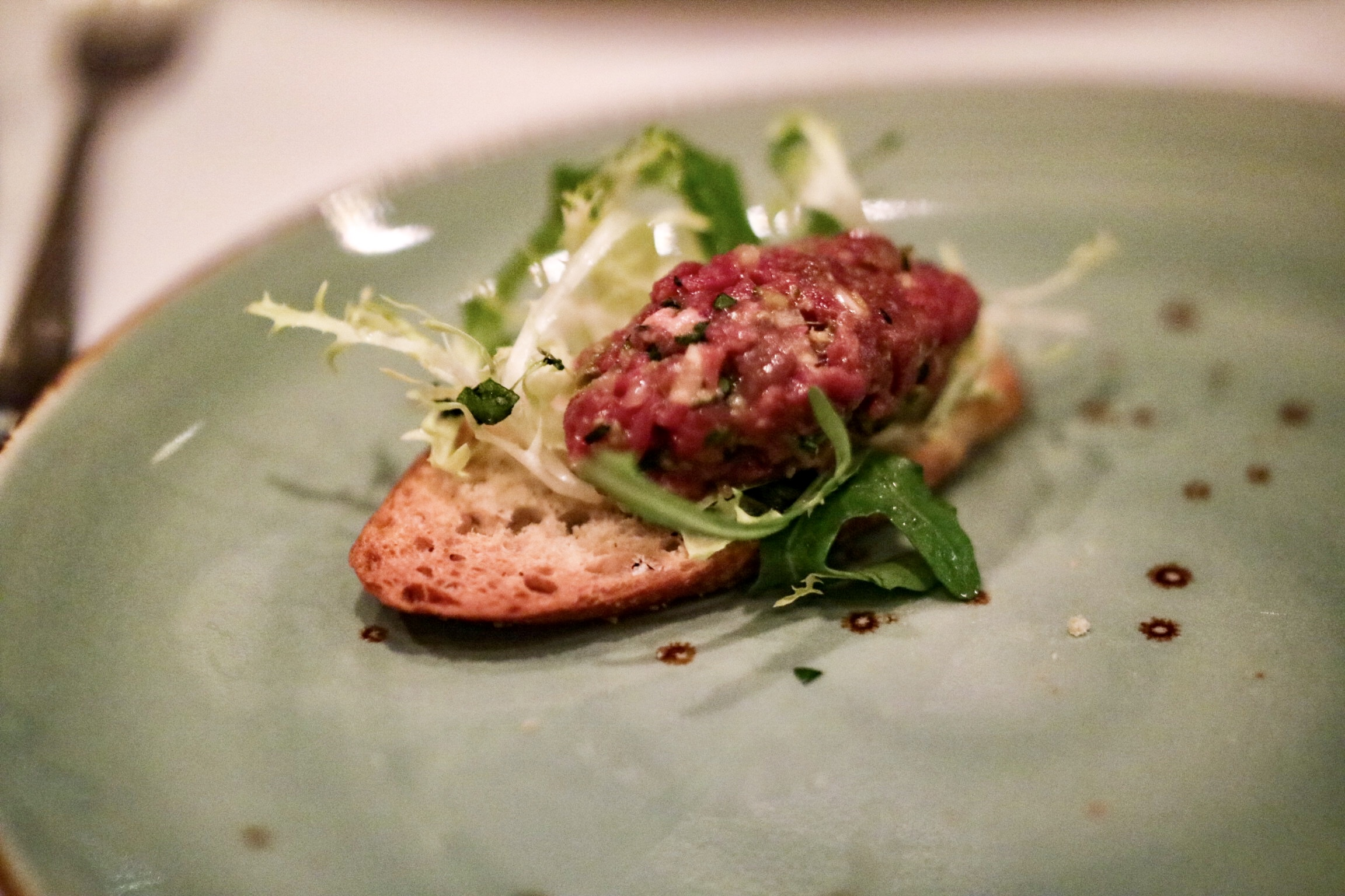 Beef Tartare @ The Grill Room