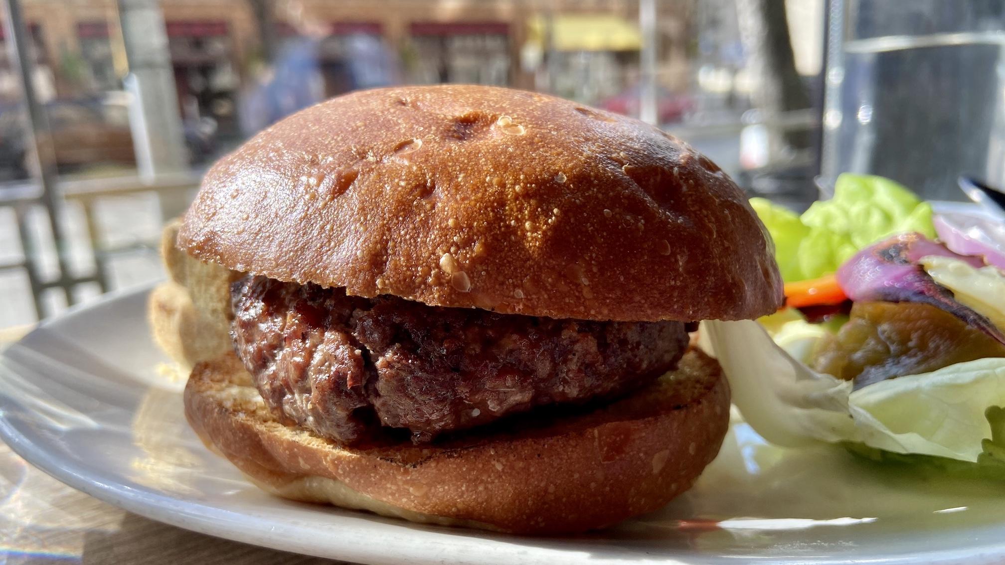 Lola lamb burger