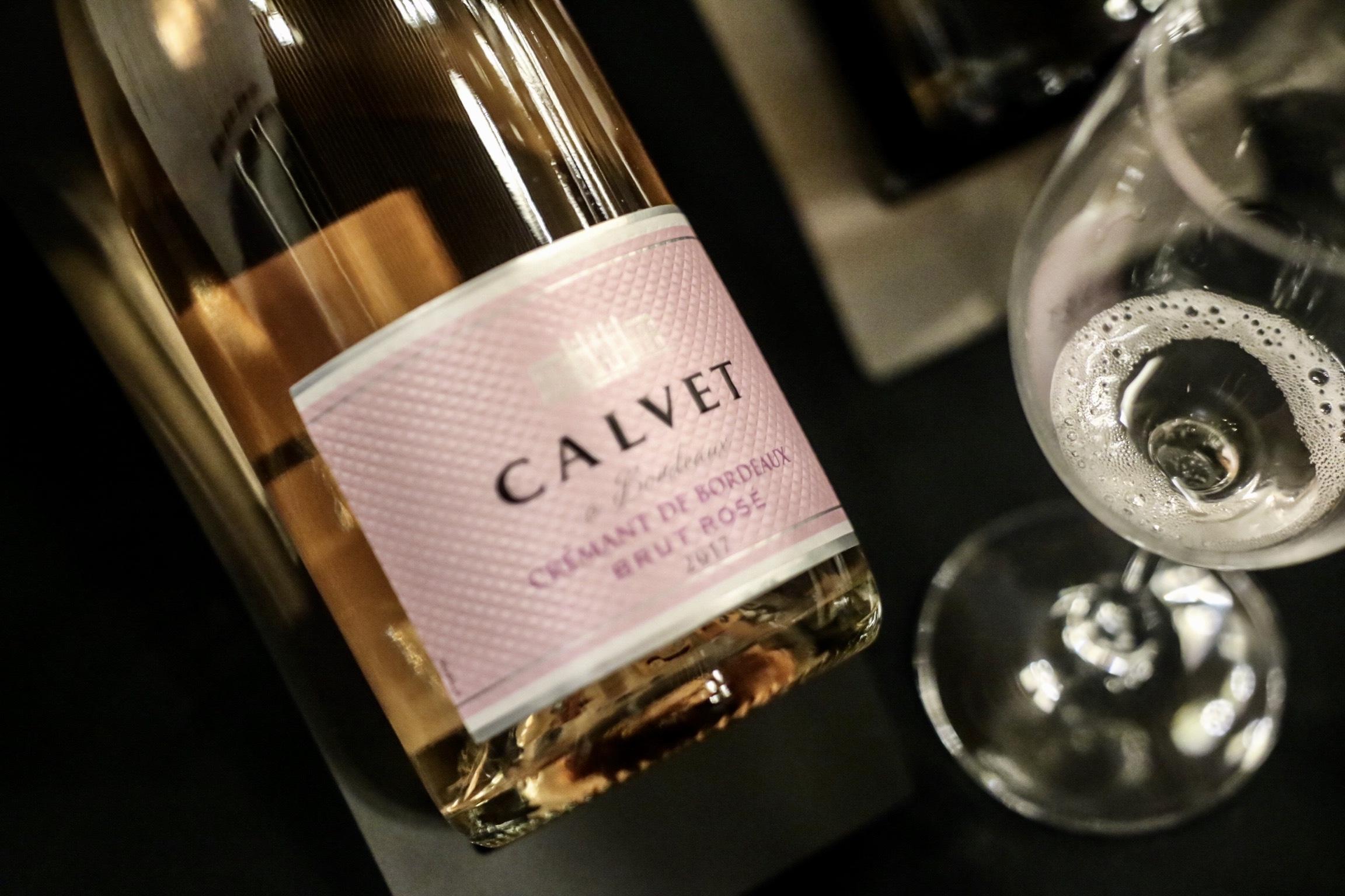 Calvet Cremant de Bordeaux Brut Rose, France