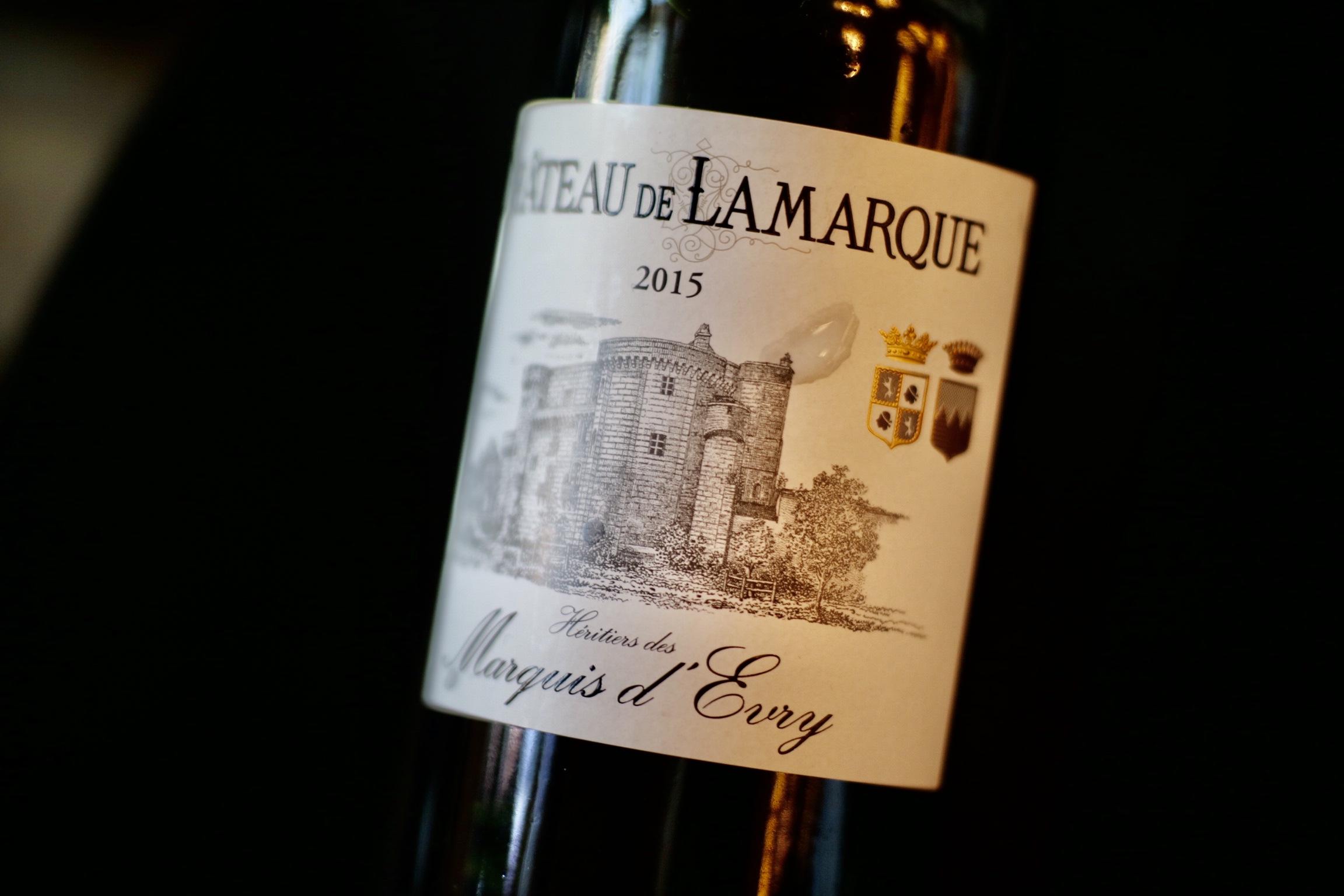 2015 Château de Lamarque 'Heritiers des Marquis d'Evry' Haut-Médoc