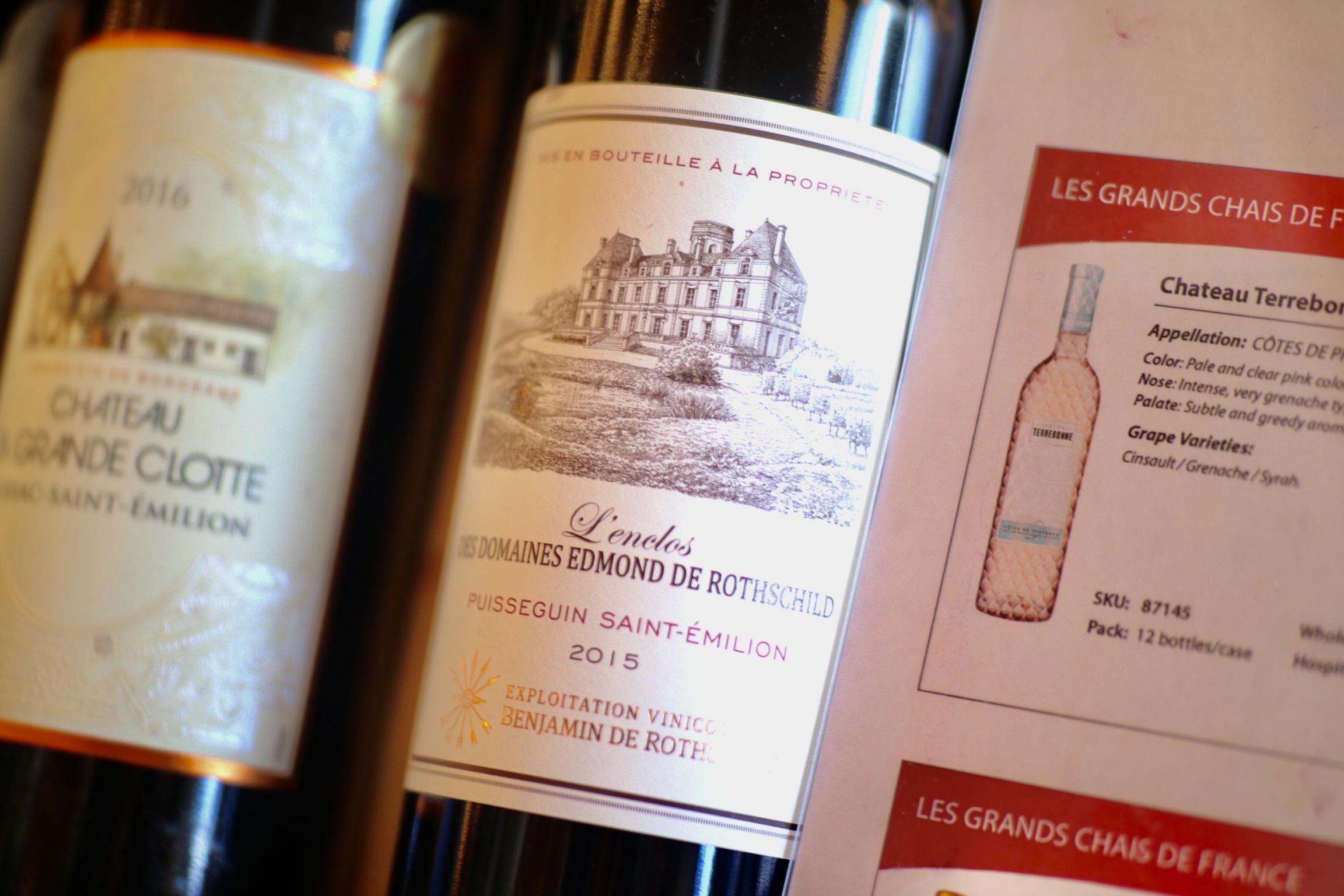2015 L'Enclos des Domaines Edmond de Rothschild Puisseguin Saint-Émilion