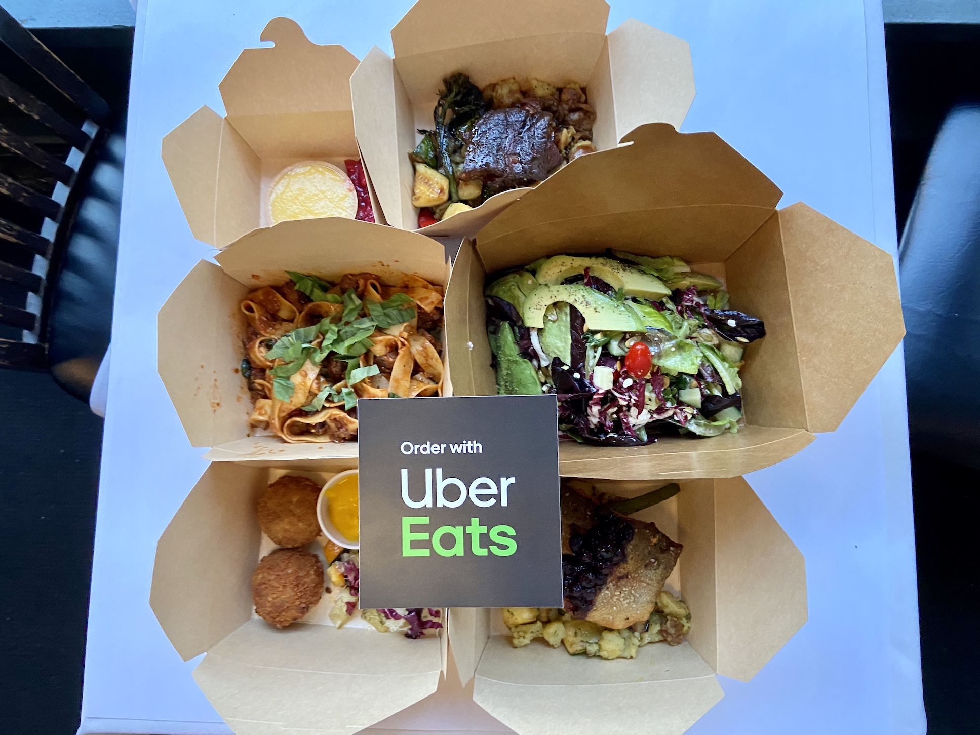 Order from Water St Cafe through Uber Eats