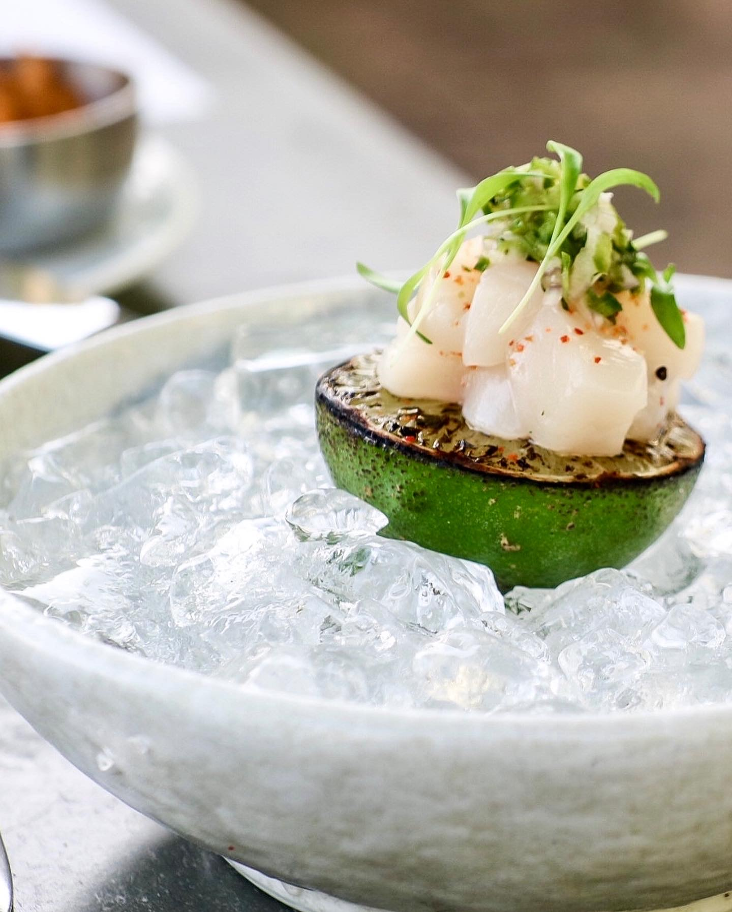 Scallop & Lime Ceviche Shooter