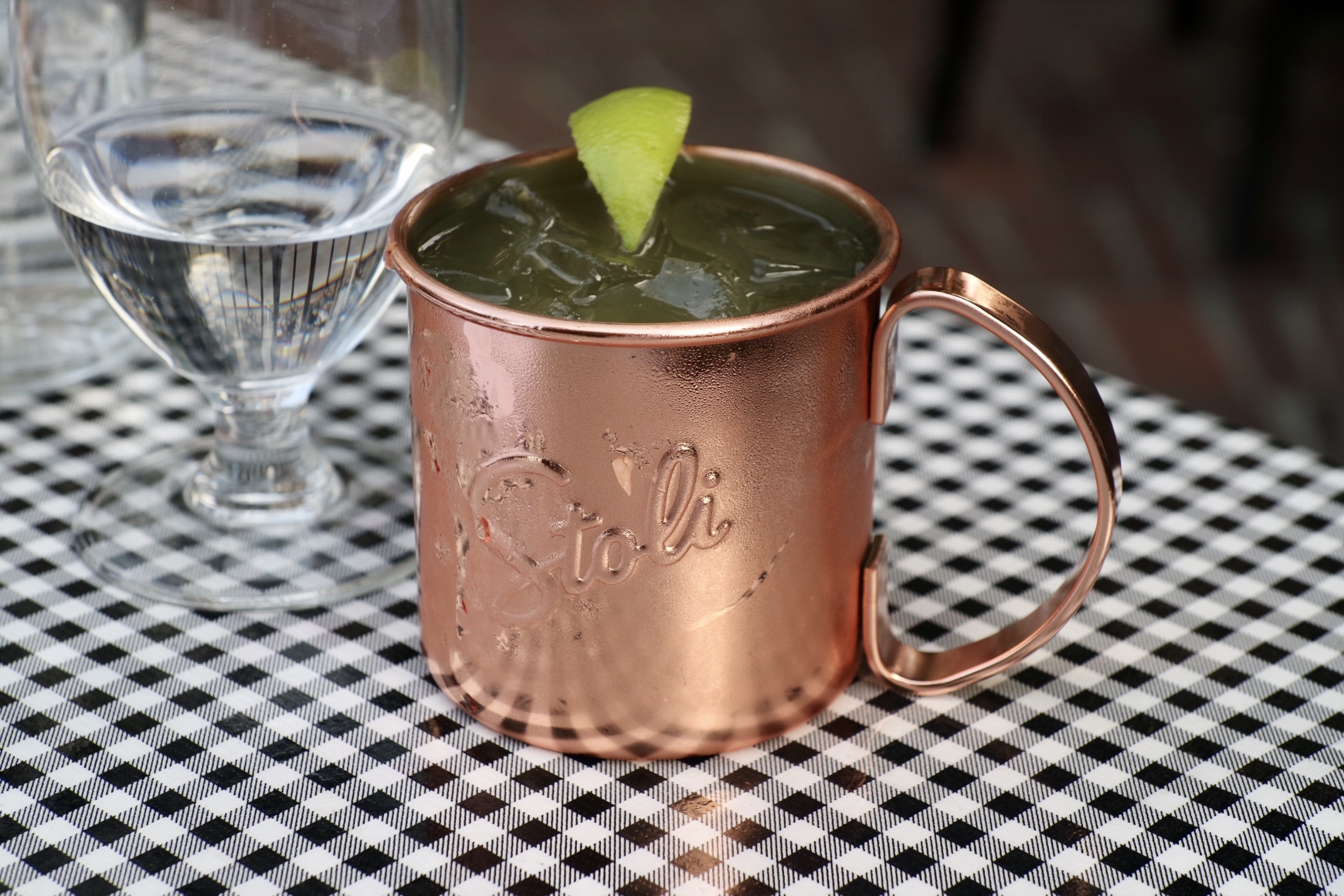 Pineapple Mule @ Water St Cafe