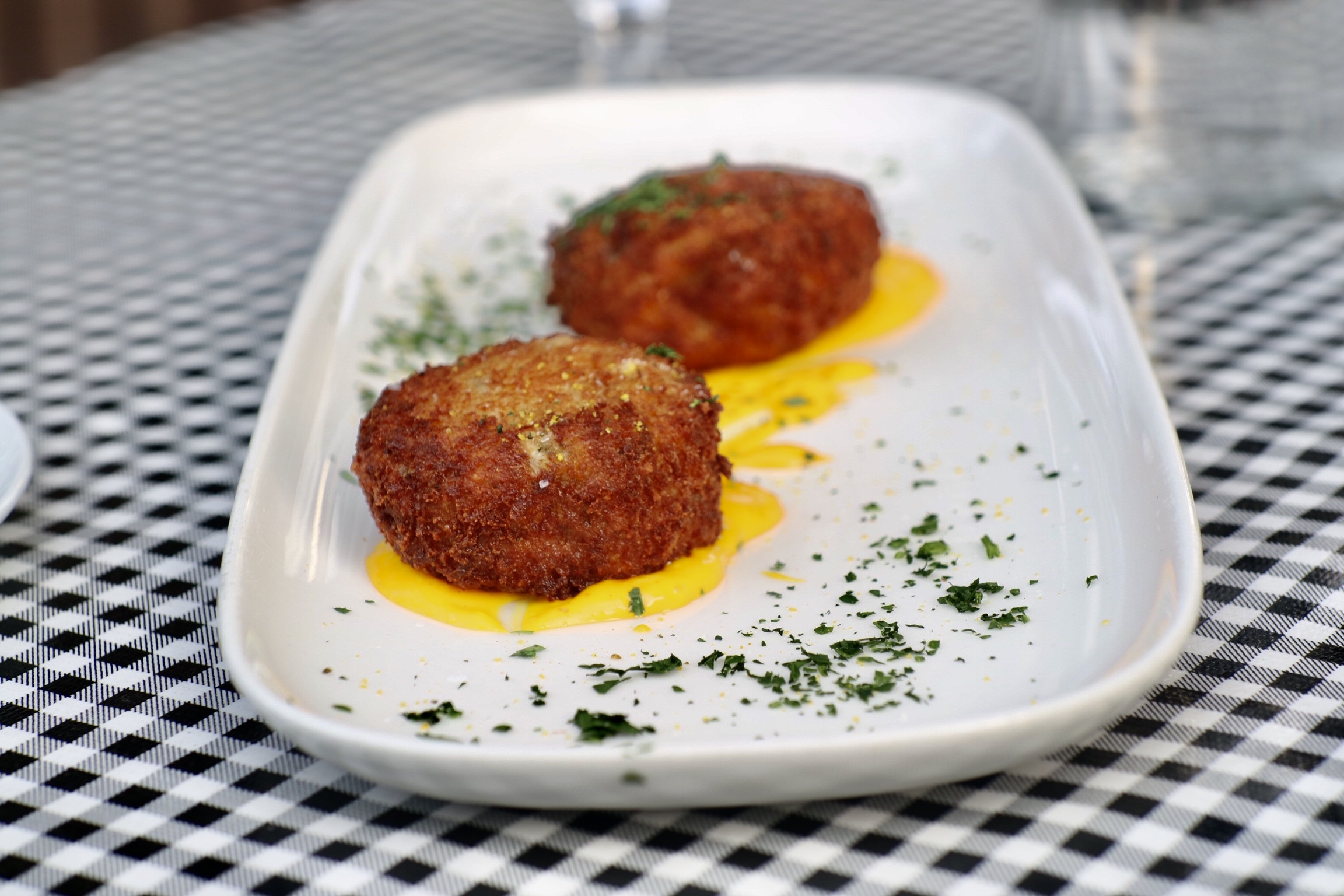 Crab Cakes @ Water St Cafe