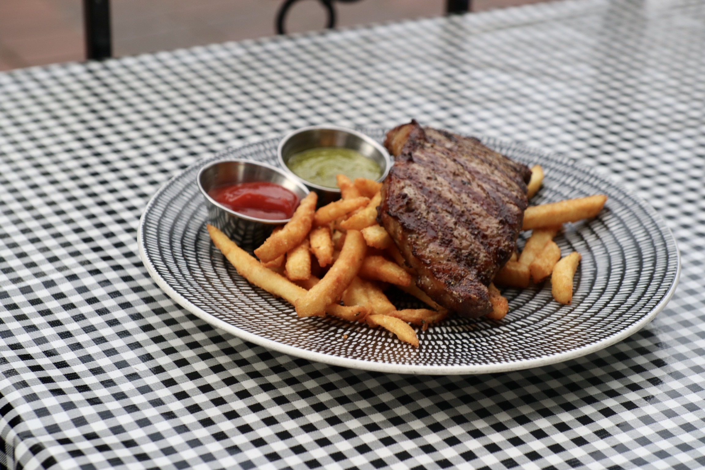 New York Steak & Frites @ Water St Cafe