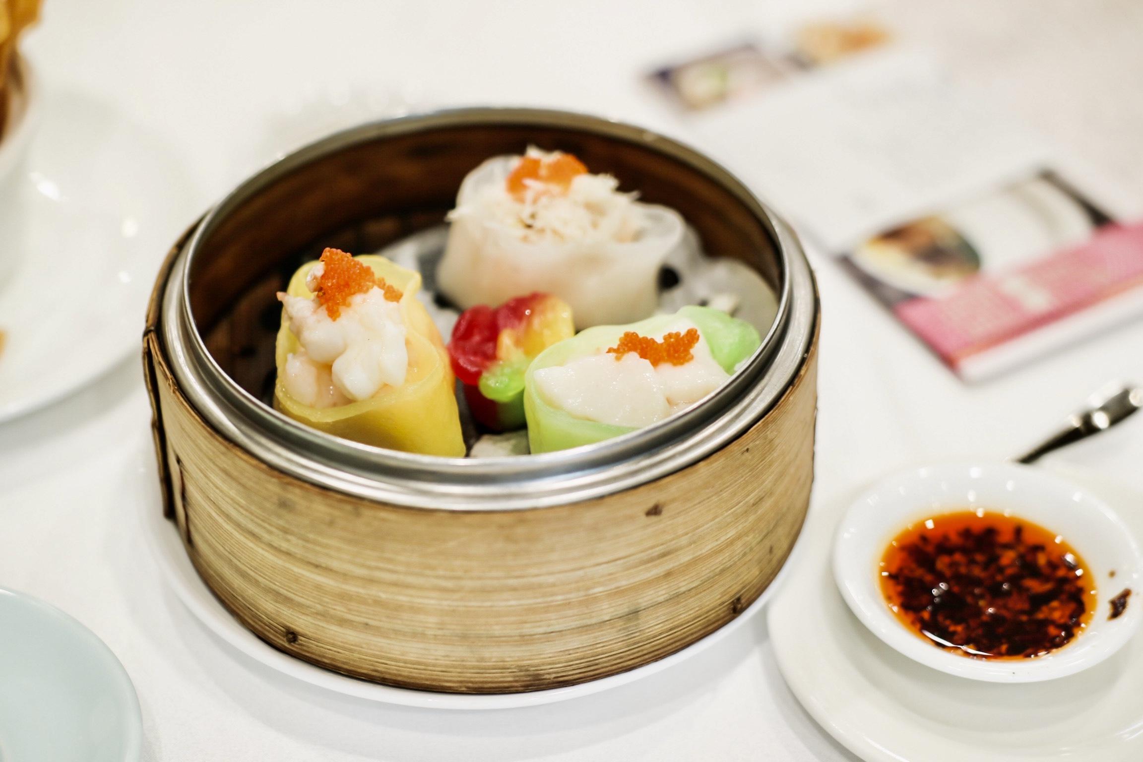 Seafood Dumpling Trio