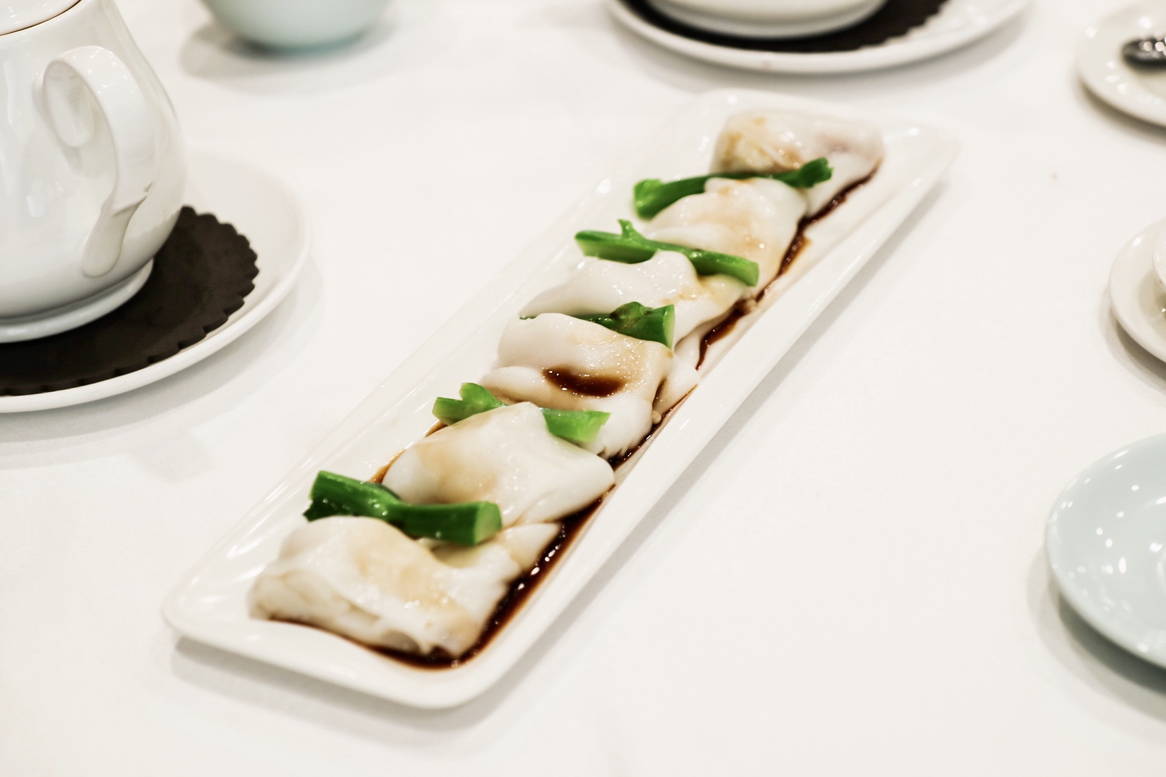 Scallop Rice Noodle Roll