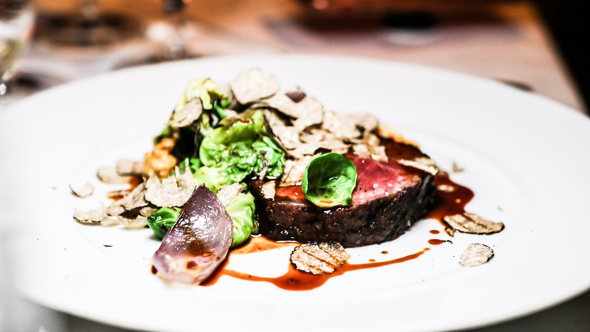 Wood-Grilled Snake River Farm Wagyu Steak
