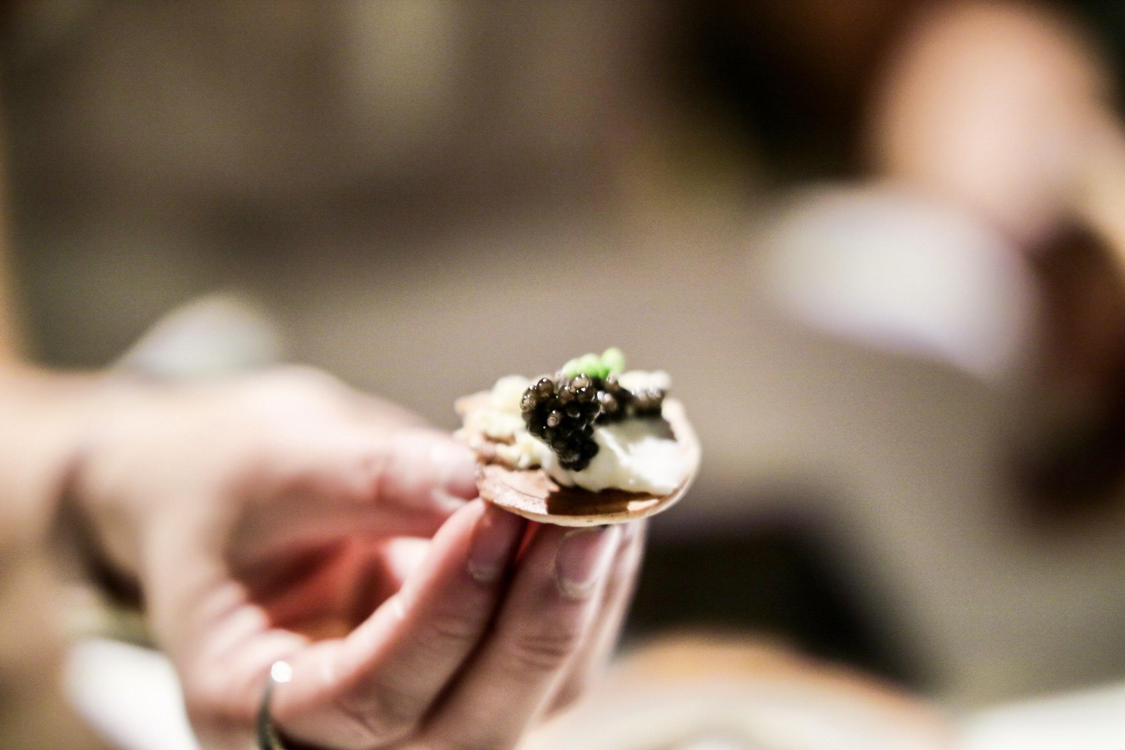 Northern Divine white sturgeon caviar